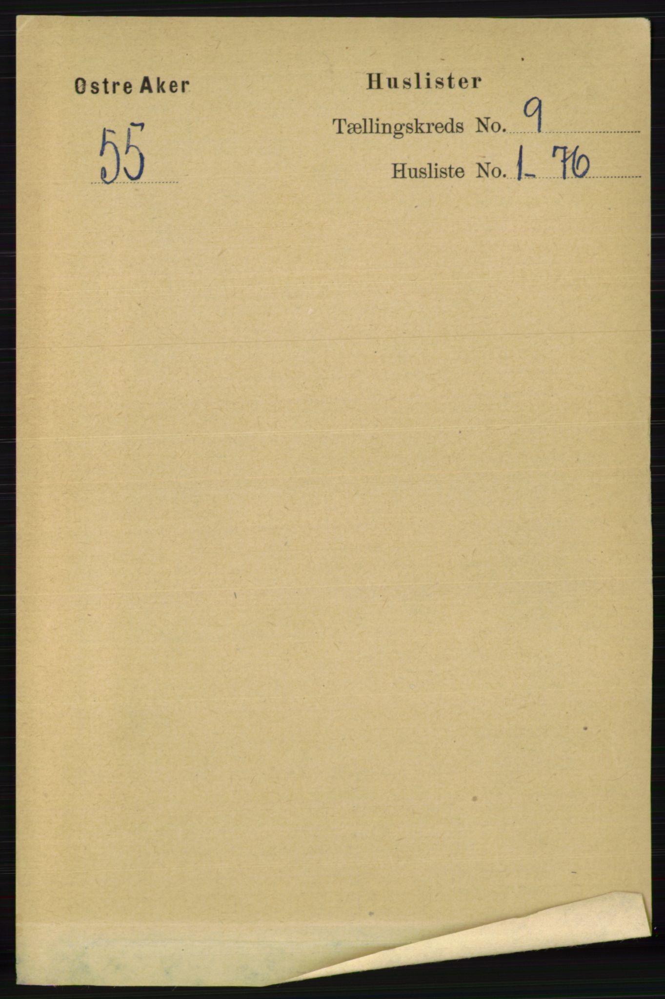 RA, Folketelling 1891 for 0218 Aker herred, 1891, s. 8286