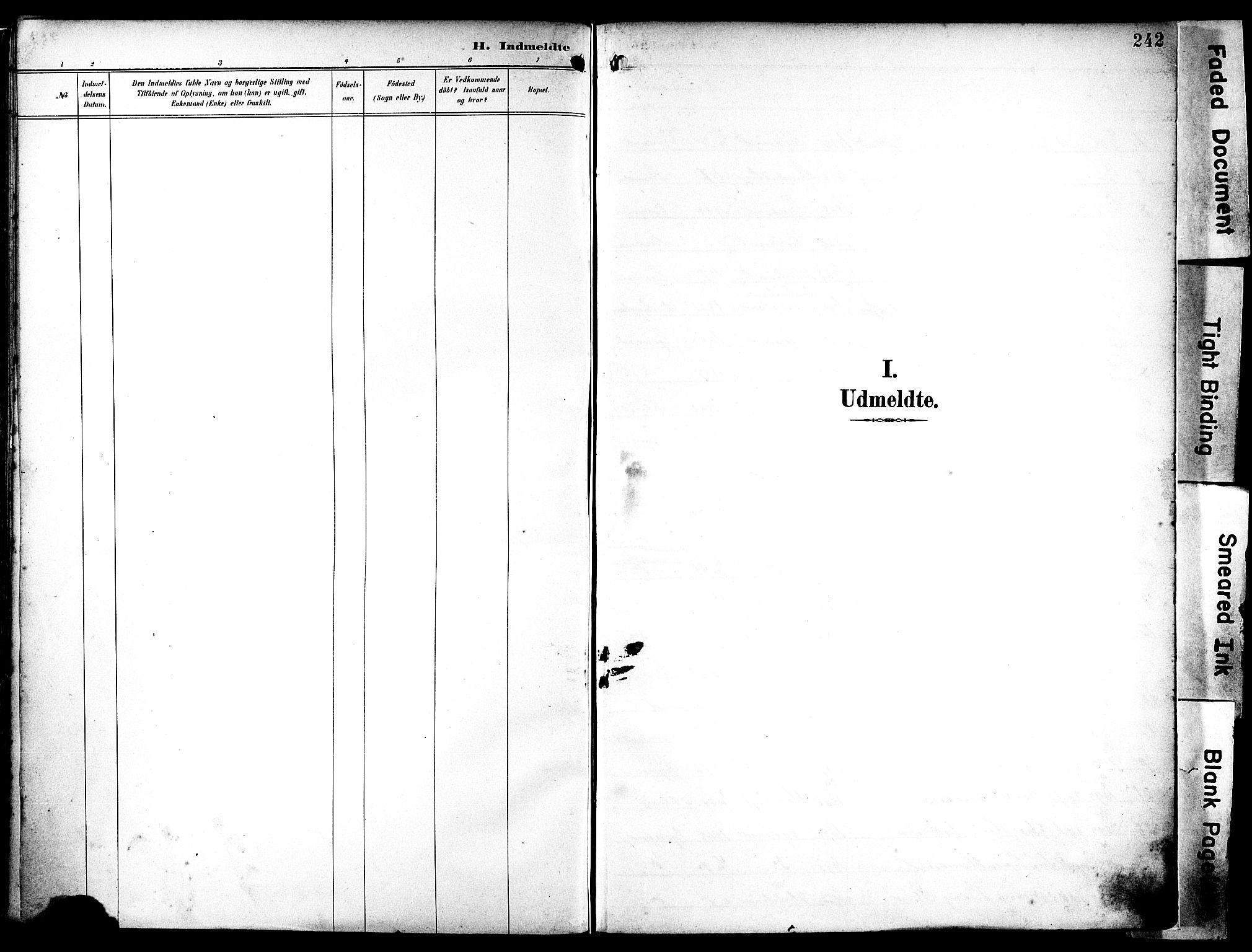 SAST, Egersund sokneprestkontor, Ministerialbok nr. A 18, 1892-1905, s. 242