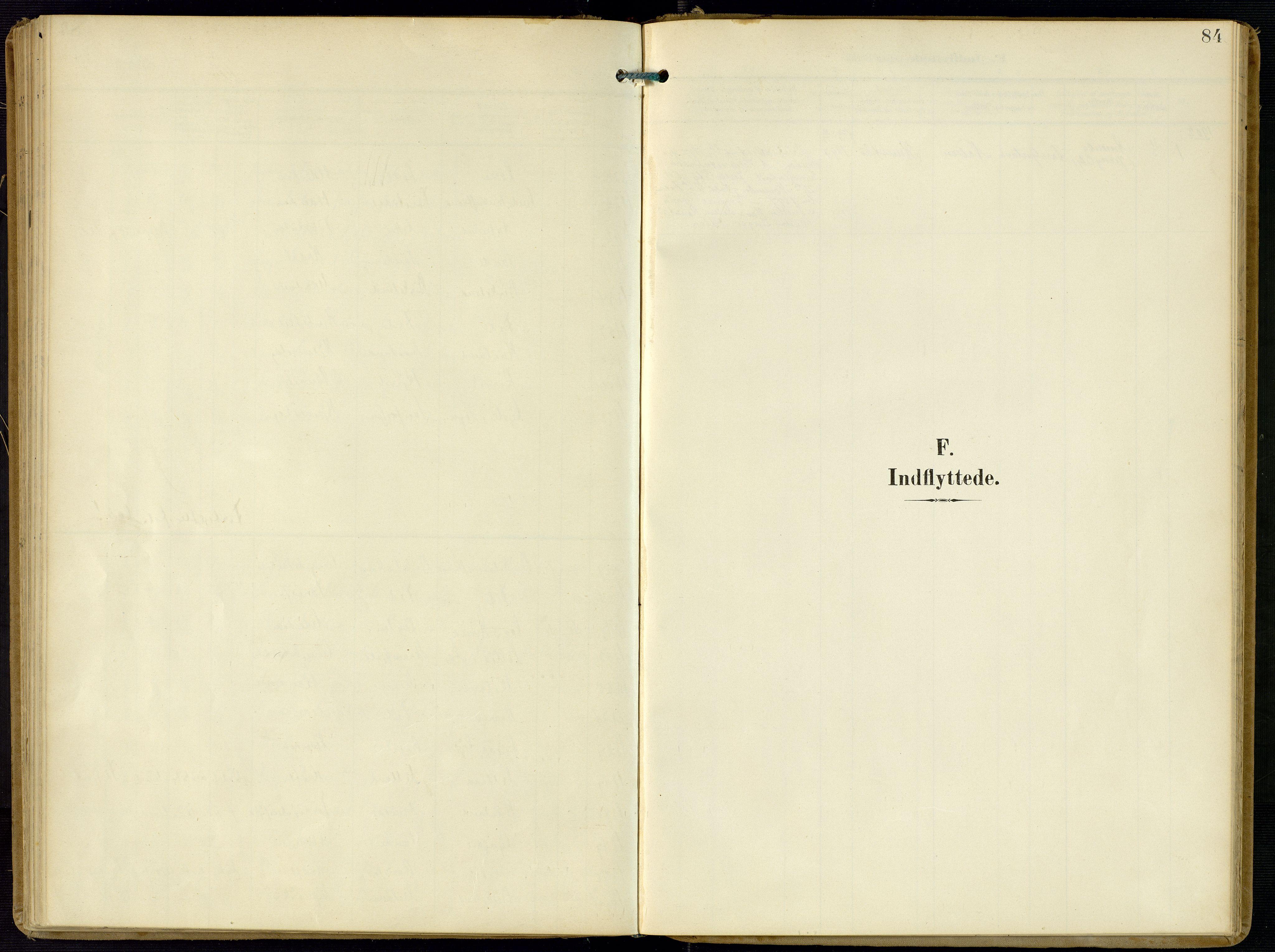 SAK, Kvinesdal sokneprestkontor, F/Fa/Faa/L0005: Ministerialbok nr. A 5, 1898-1915, s. 84