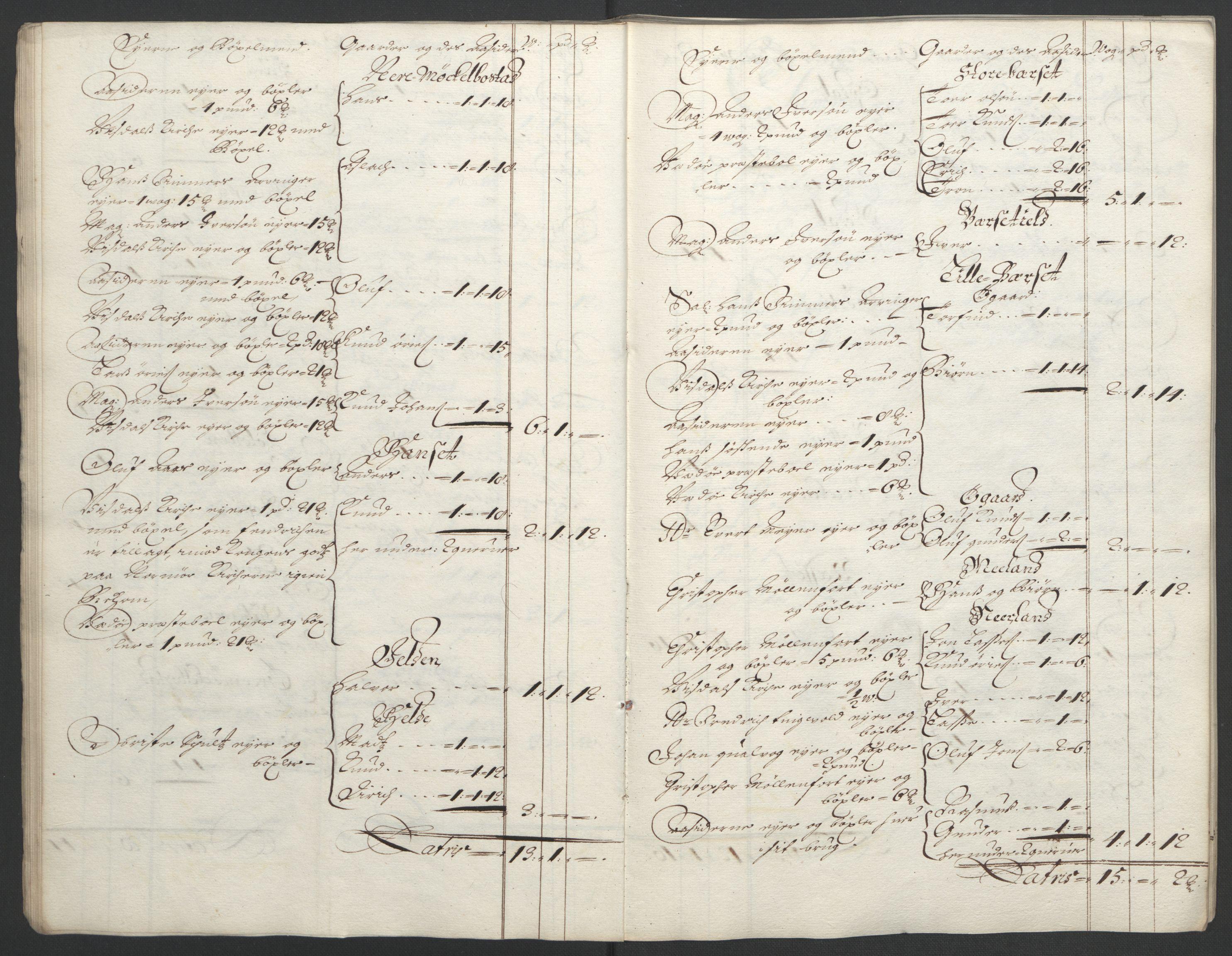 RA, Rentekammeret inntil 1814, Reviderte regnskaper, Fogderegnskap, R55/L3652: Fogderegnskap Romsdal, 1695-1696, s. 26