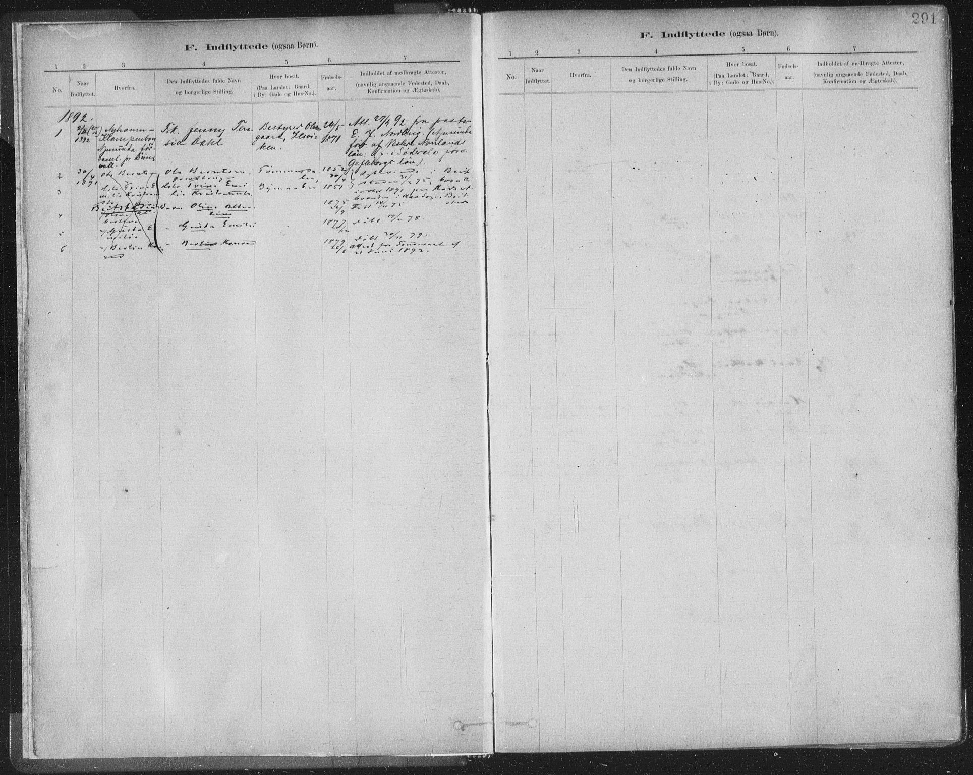 SAT, Ministerialprotokoller, klokkerbøker og fødselsregistre - Sør-Trøndelag, 603/L0163: Ministerialbok nr. 603A02, 1879-1895, s. 291