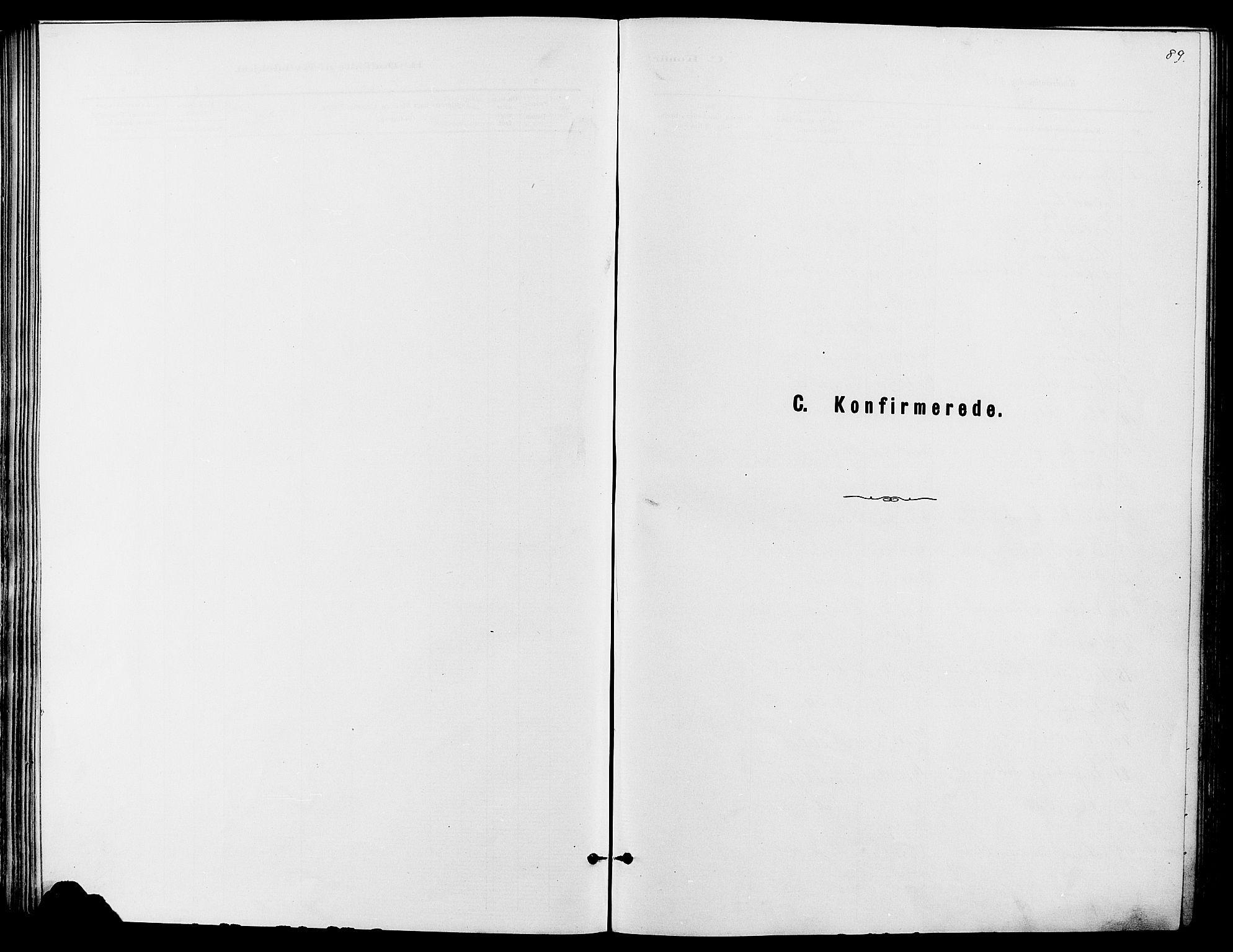 SAH, Dovre prestekontor, Ministerialbok nr. 2, 1879-1890, s. 89
