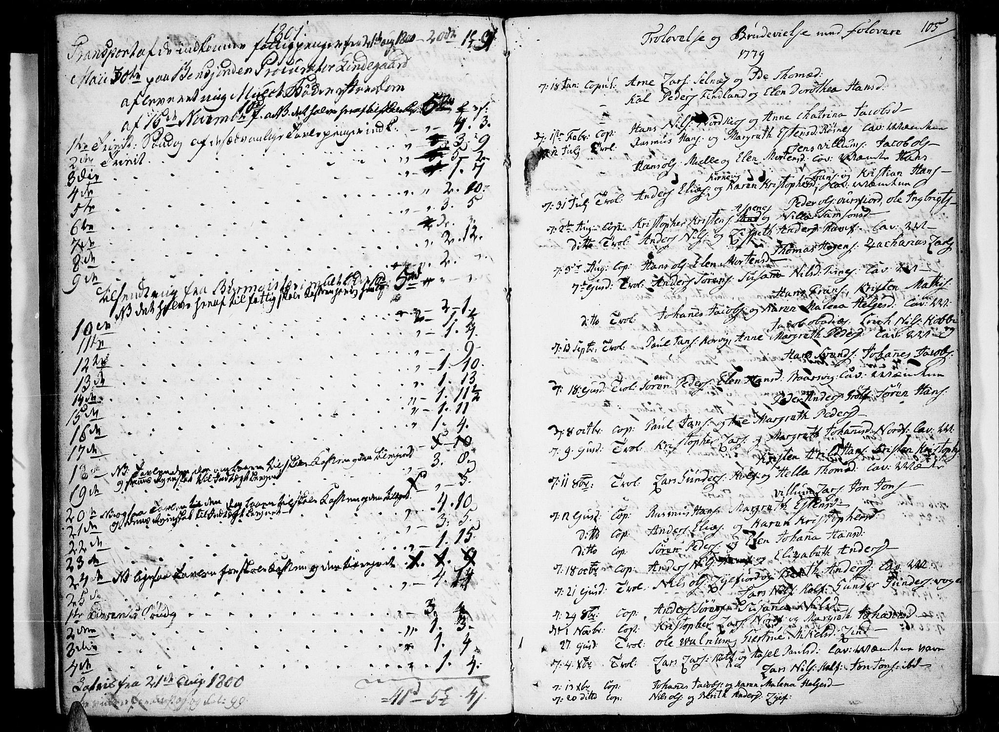 SATØ, Tromsø sokneprestkontor/stiftsprosti/domprosti, G/Ga/L0003kirke: Ministerialbok nr. 3, 1779-1796, s. 105