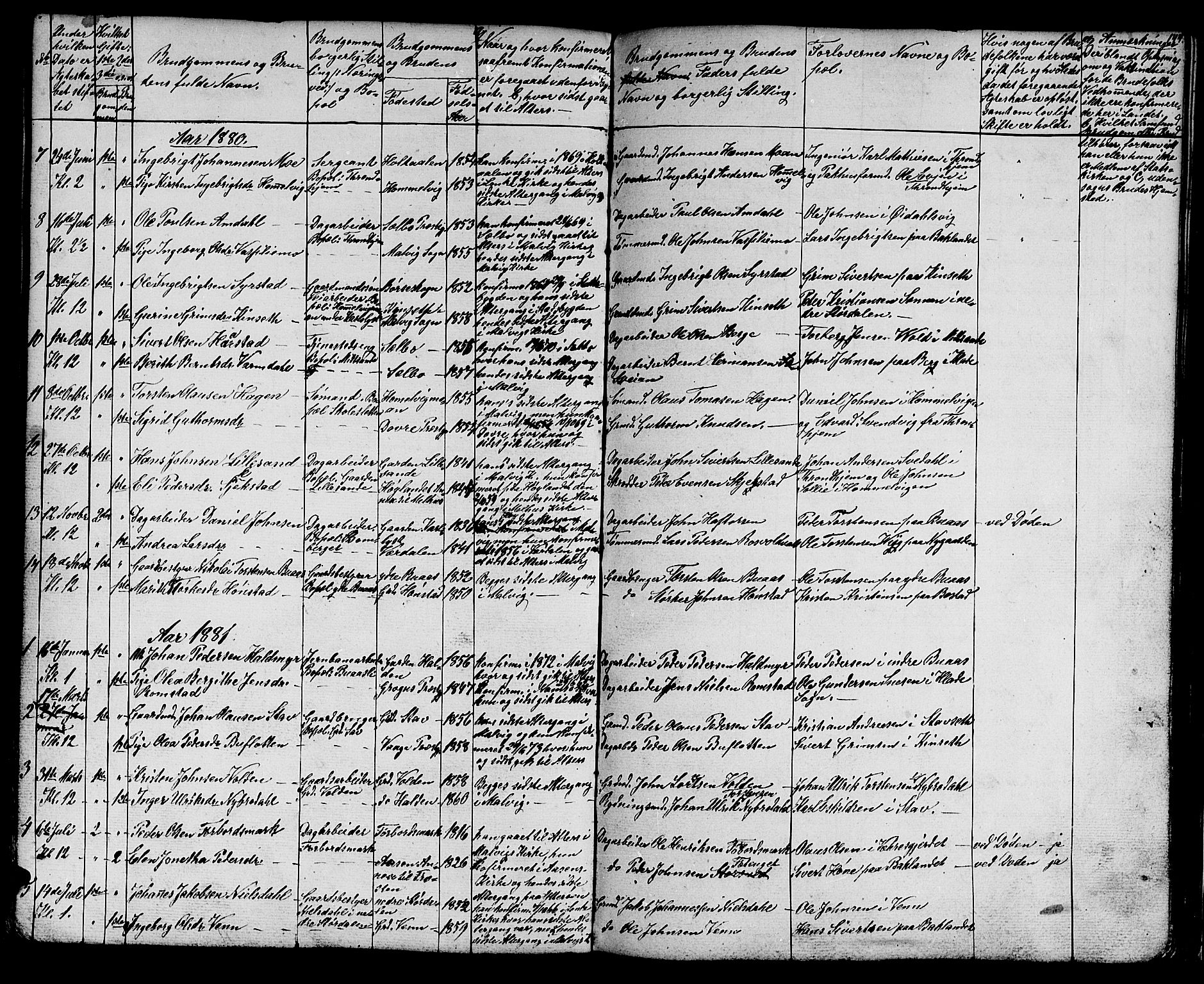 SAT, Ministerialprotokoller, klokkerbøker og fødselsregistre - Sør-Trøndelag, 616/L0422: Klokkerbok nr. 616C05, 1850-1888, s. 144