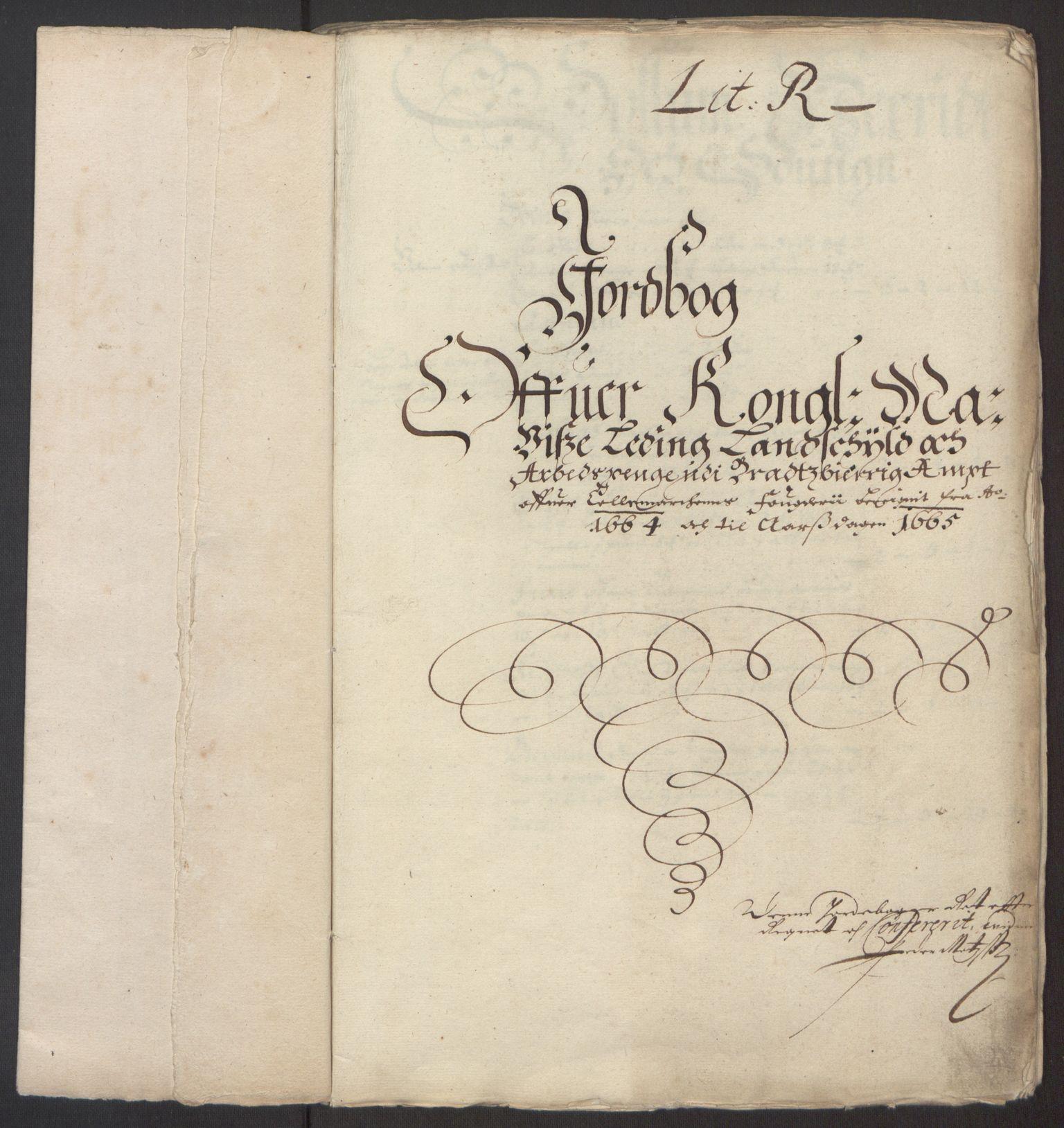 RA, Rentekammeret inntil 1814, Reviderte regnskaper, Fogderegnskap, R35/L2055: Fogderegnskap Øvre og Nedre Telemark, 1664, s. 168