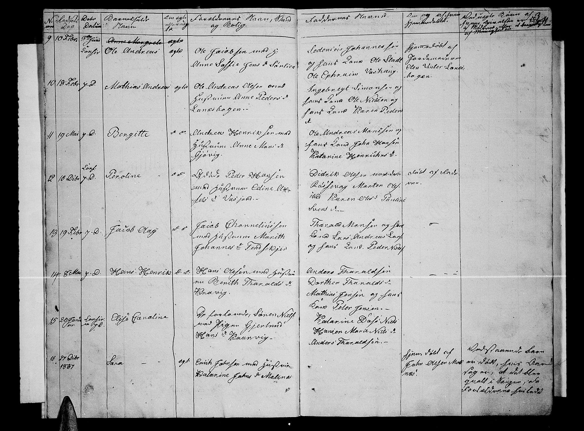 SATØ, Lenvik sokneprestembete, H/Ha: Klokkerbok nr. 2, 1838-1843, s. 3