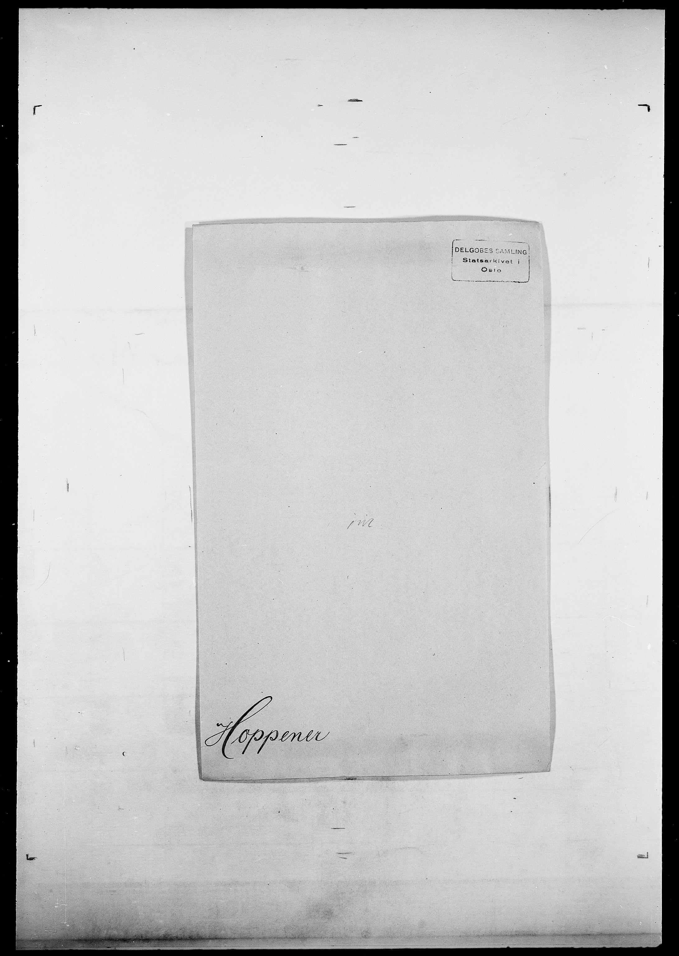 SAO, Delgobe, Charles Antoine - samling, D/Da/L0018: Hoch - Howert, s. 933