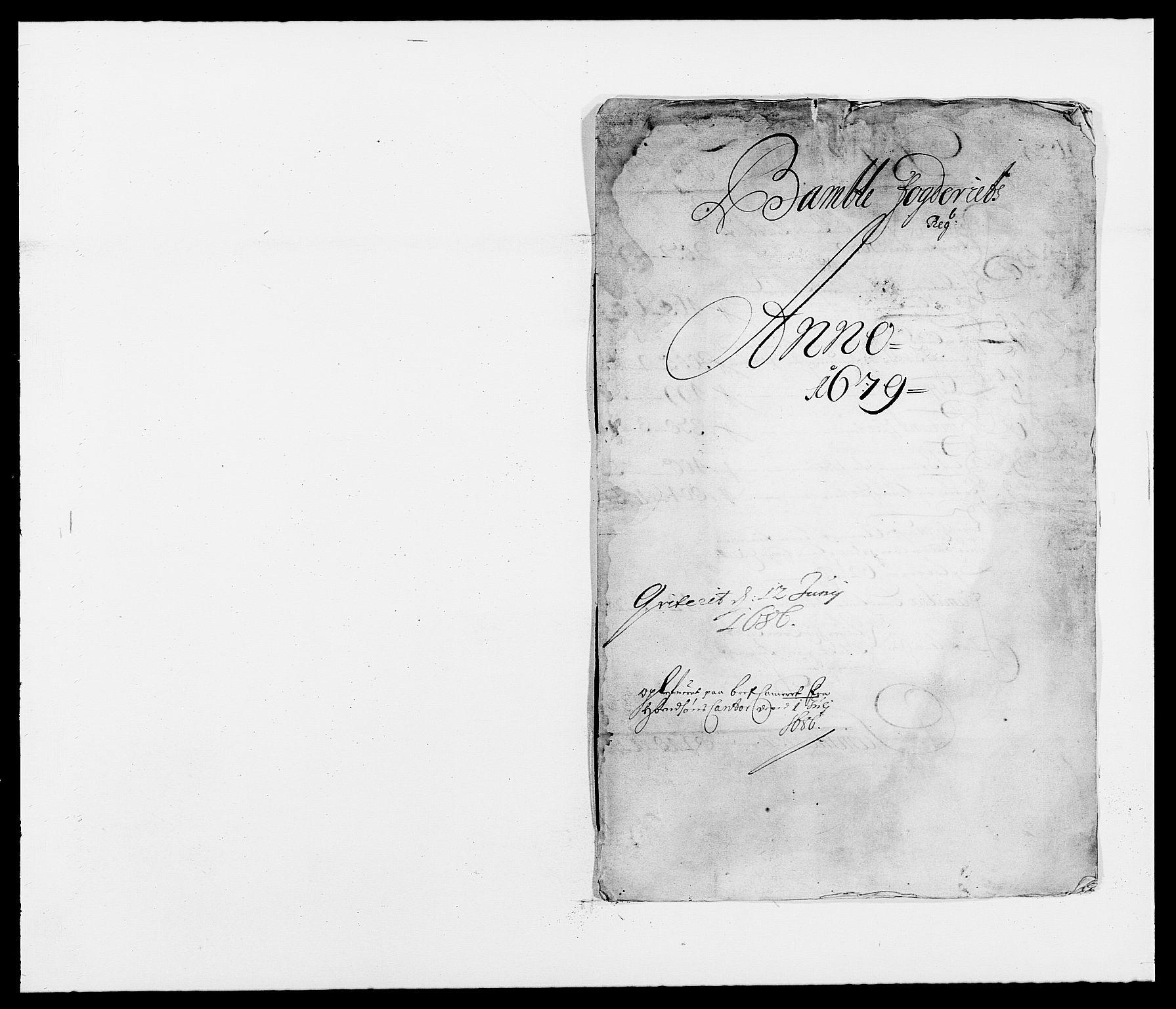 RA, Rentekammeret inntil 1814, Reviderte regnskaper, Fogderegnskap, R34/L2044: Fogderegnskap Bamble, 1678-1679, s. 233