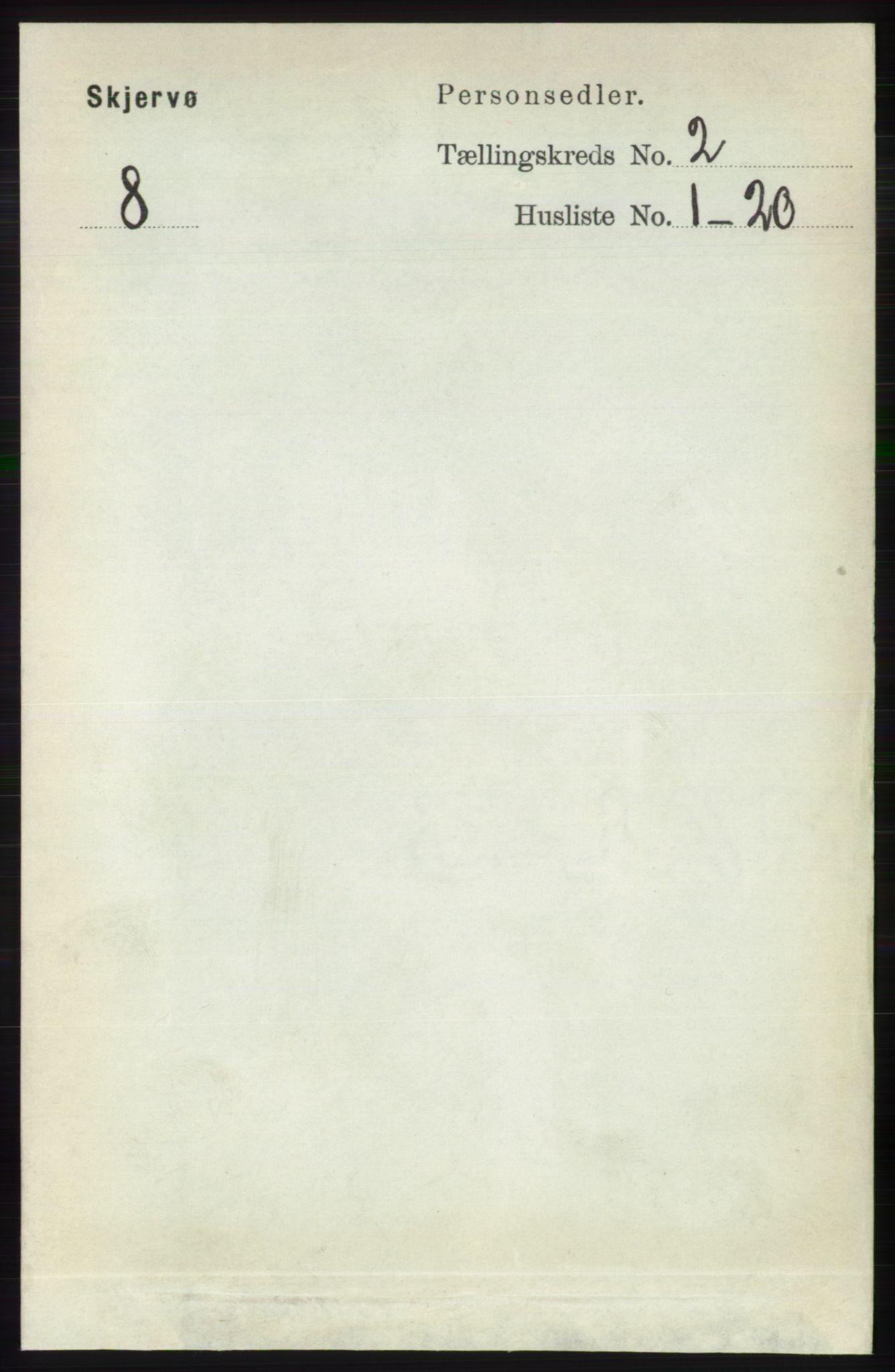 RA, Folketelling 1891 for 1941 Skjervøy herred, 1891, s. 1027