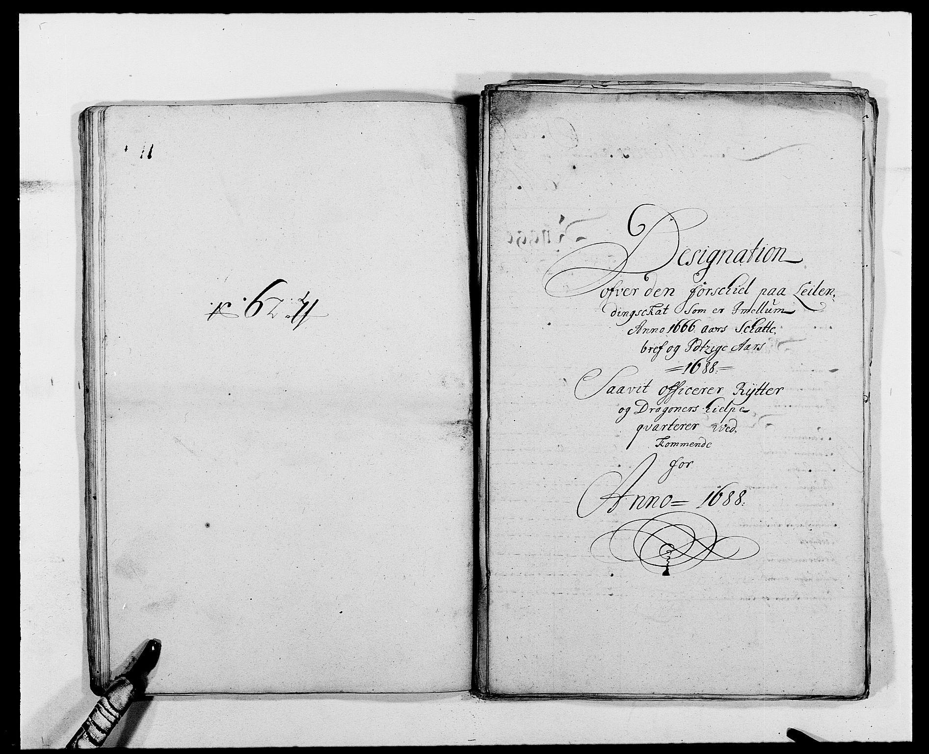 RA, Rentekammeret inntil 1814, Reviderte regnskaper, Fogderegnskap, R02/L0107: Fogderegnskap Moss og Verne kloster, 1685-1691, s. 222