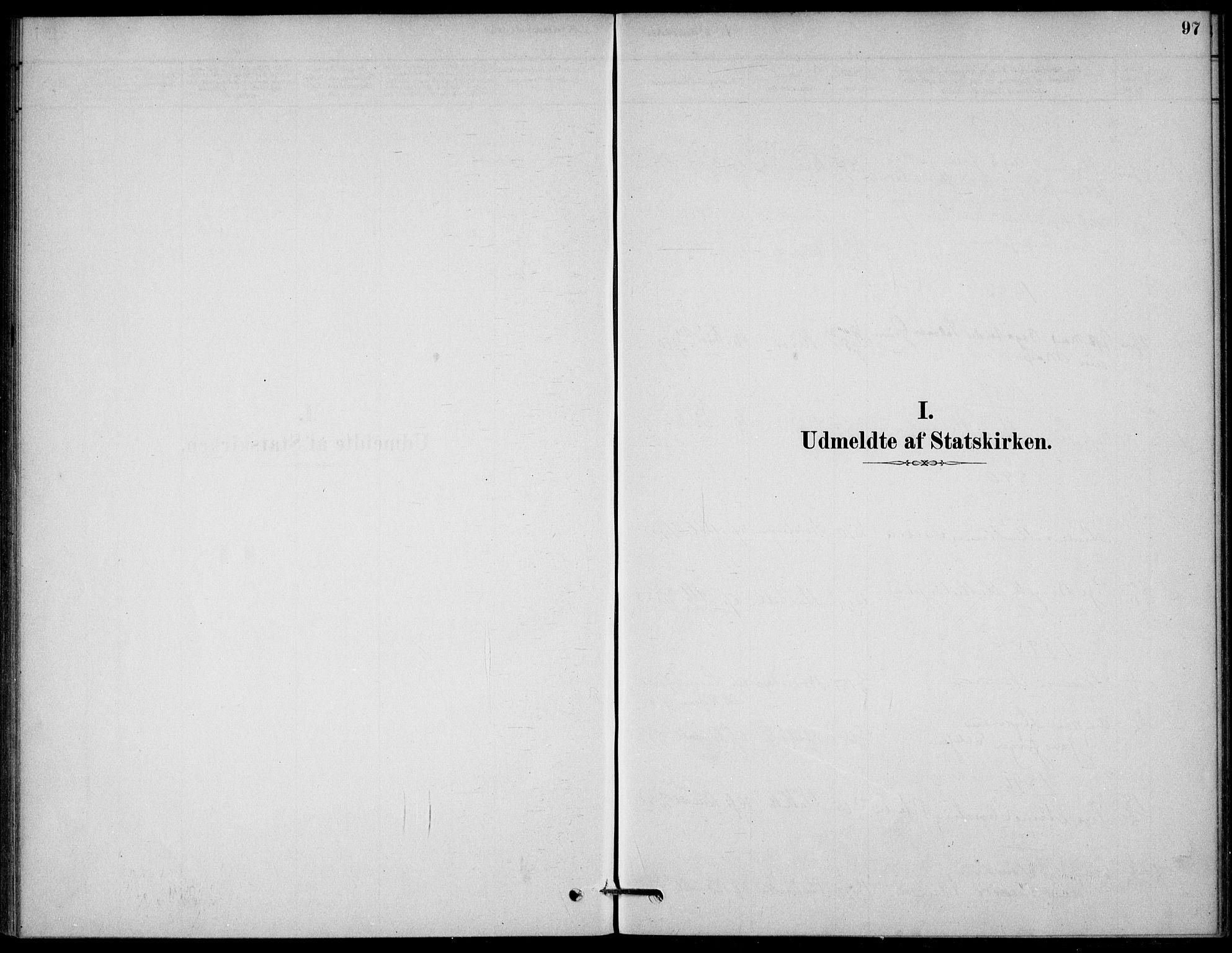 SAKO, Bamble kirkebøker, G/Gb/L0001: Klokkerbok nr. II 1, 1878-1900, s. 97