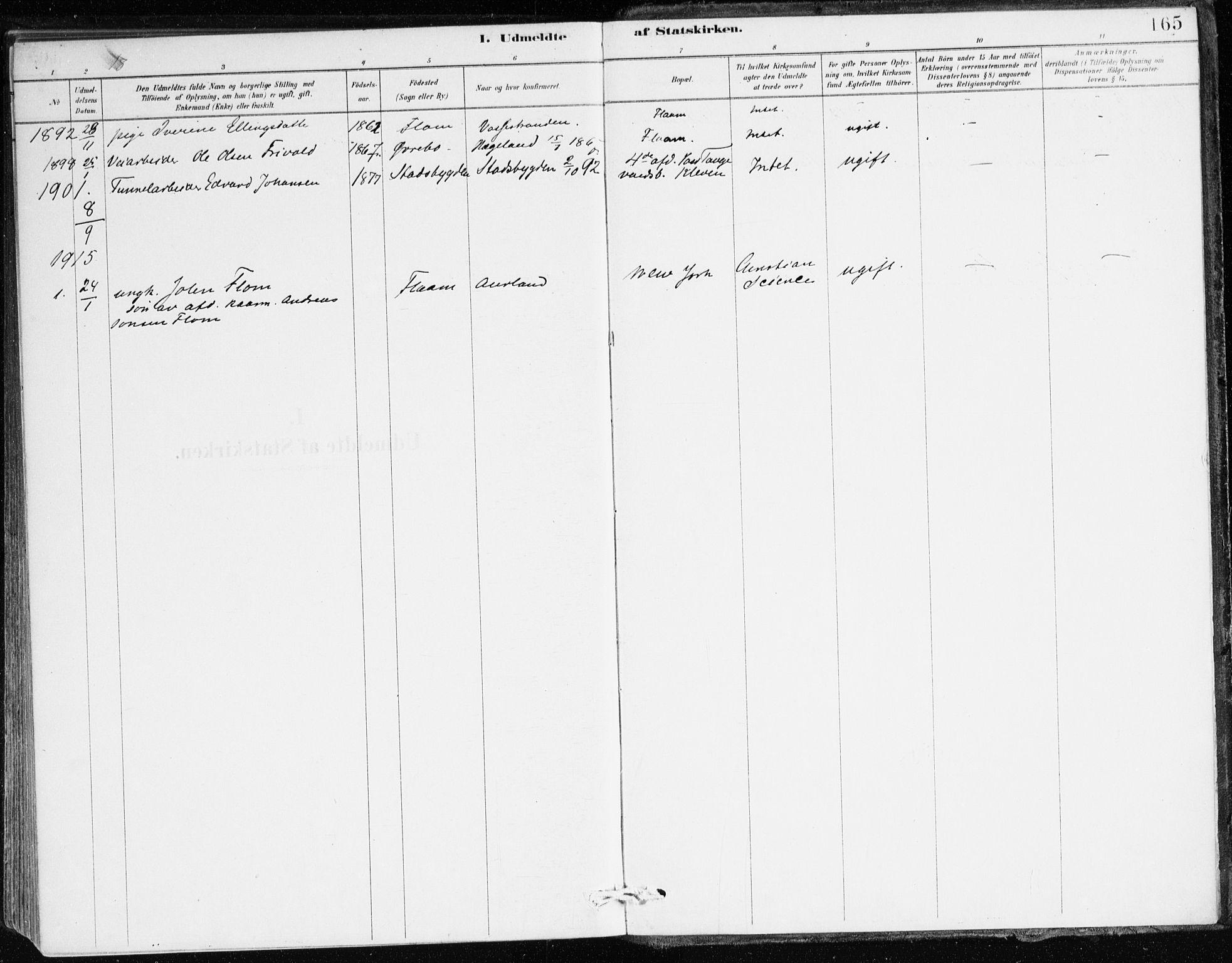 SAB, Aurland Sokneprestembete*, Ministerialbok nr. C 1, 1880-1921, s. 165