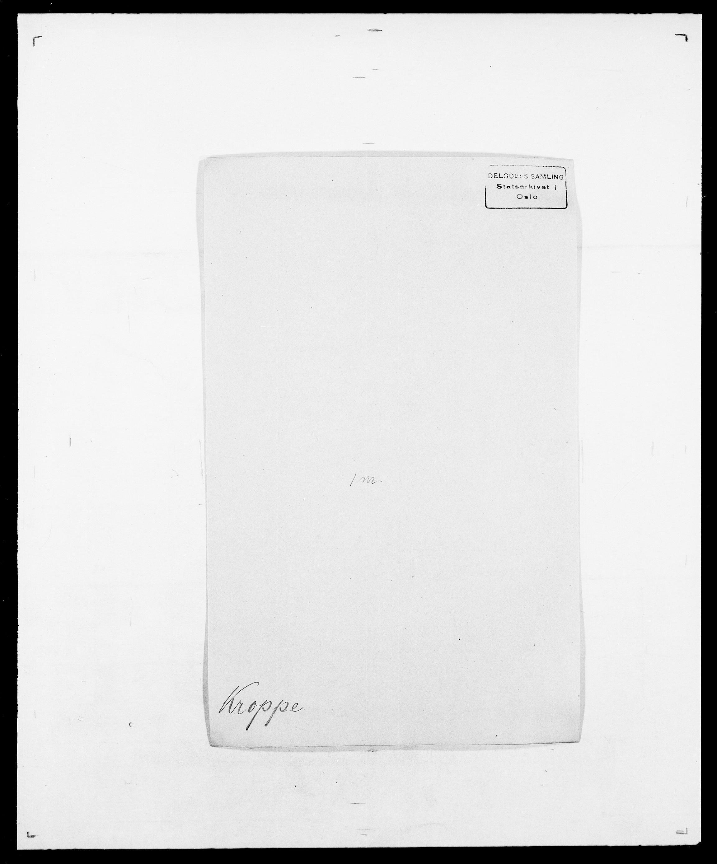 SAO, Delgobe, Charles Antoine - samling, D/Da/L0022: Krog - Lasteen, s. 99