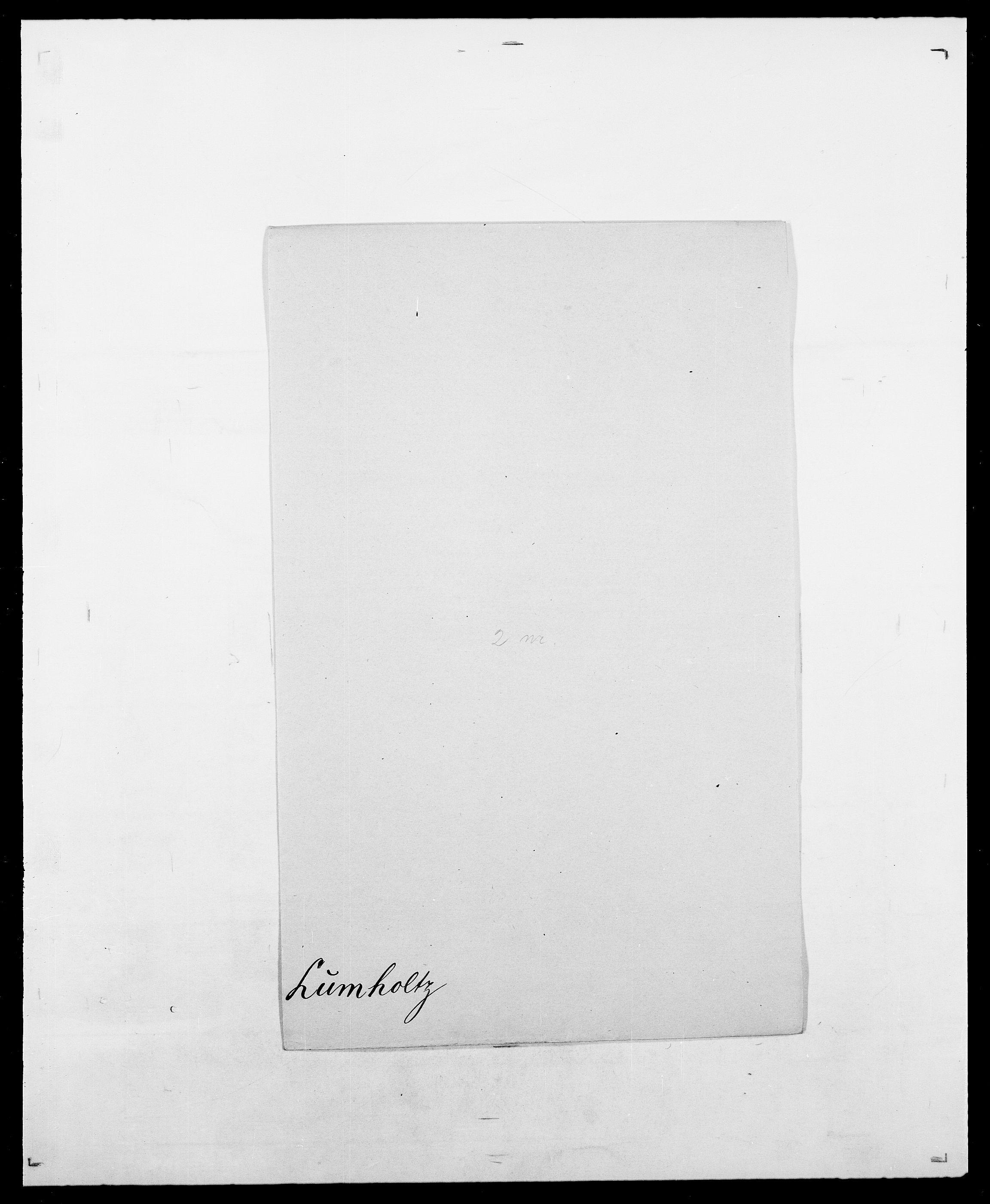 SAO, Delgobe, Charles Antoine - samling, D/Da/L0024: Lobech - Lærum, s. 397