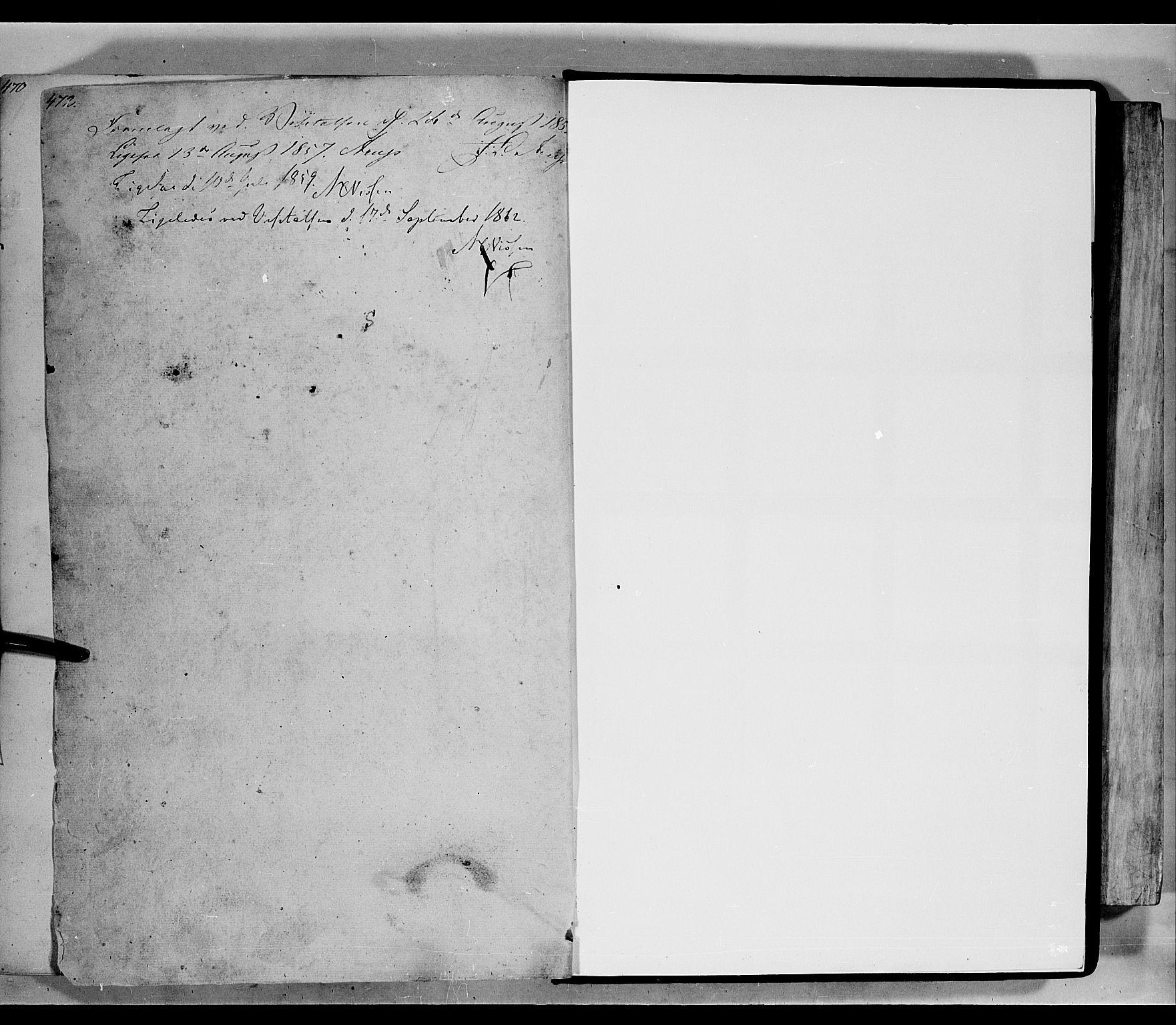 SAH, Lom prestekontor, L/L0004: Klokkerbok nr. 4, 1845-1864, s. 472-473