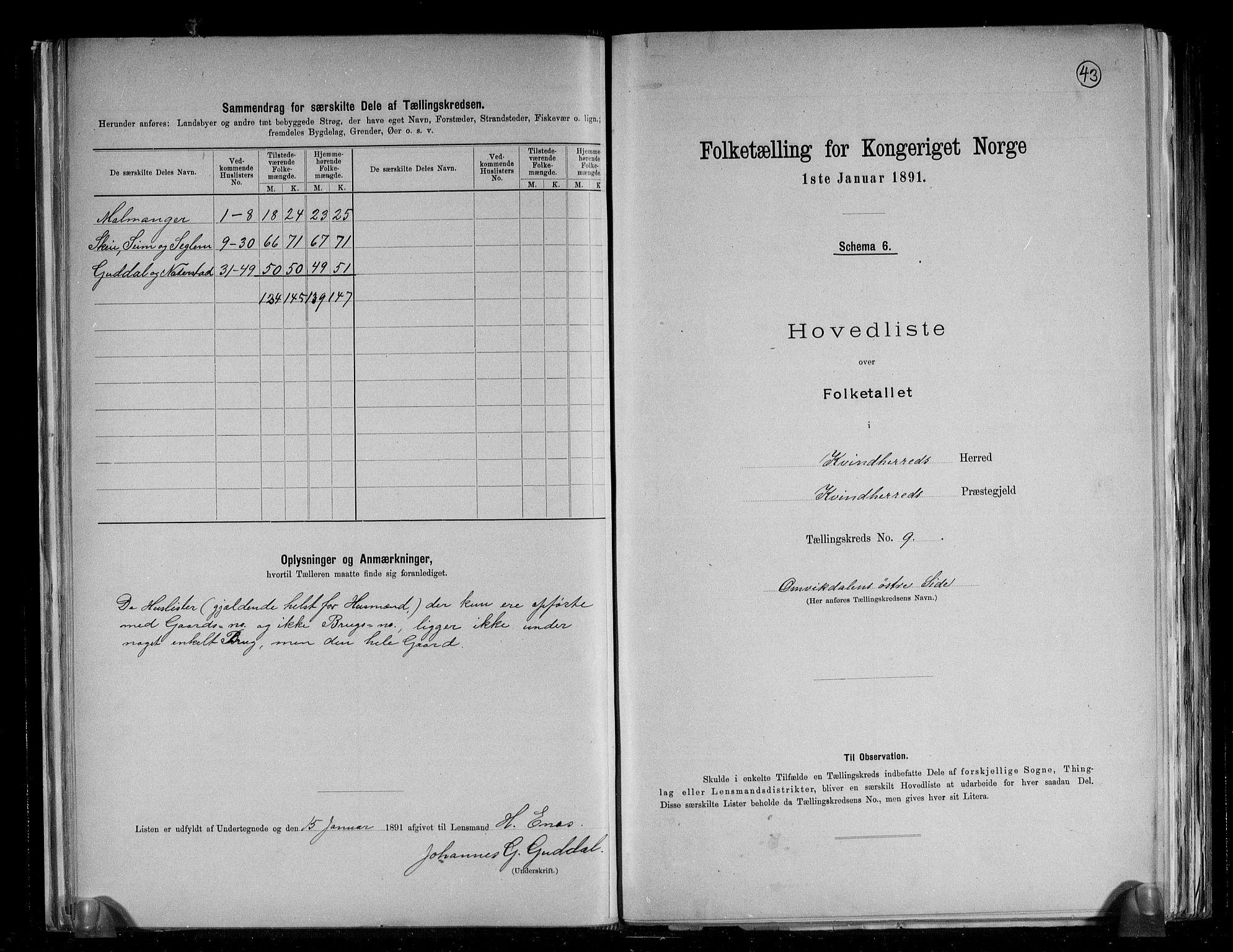 RA, Folketelling 1891 for 1224 Kvinnherad herred, 1891, s. 23
