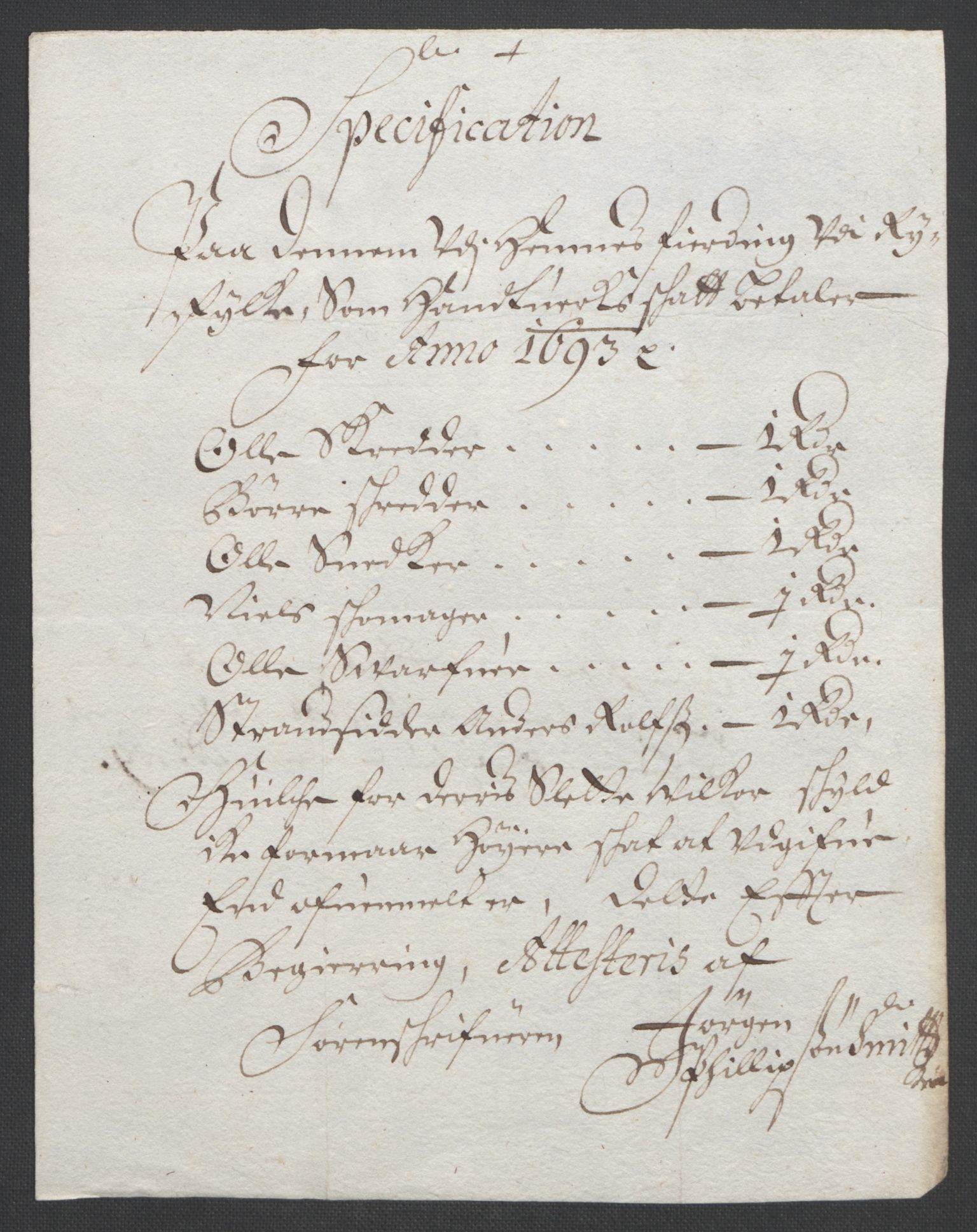 RA, Rentekammeret inntil 1814, Reviderte regnskaper, Fogderegnskap, R47/L2856: Fogderegnskap Ryfylke, 1689-1693, s. 642
