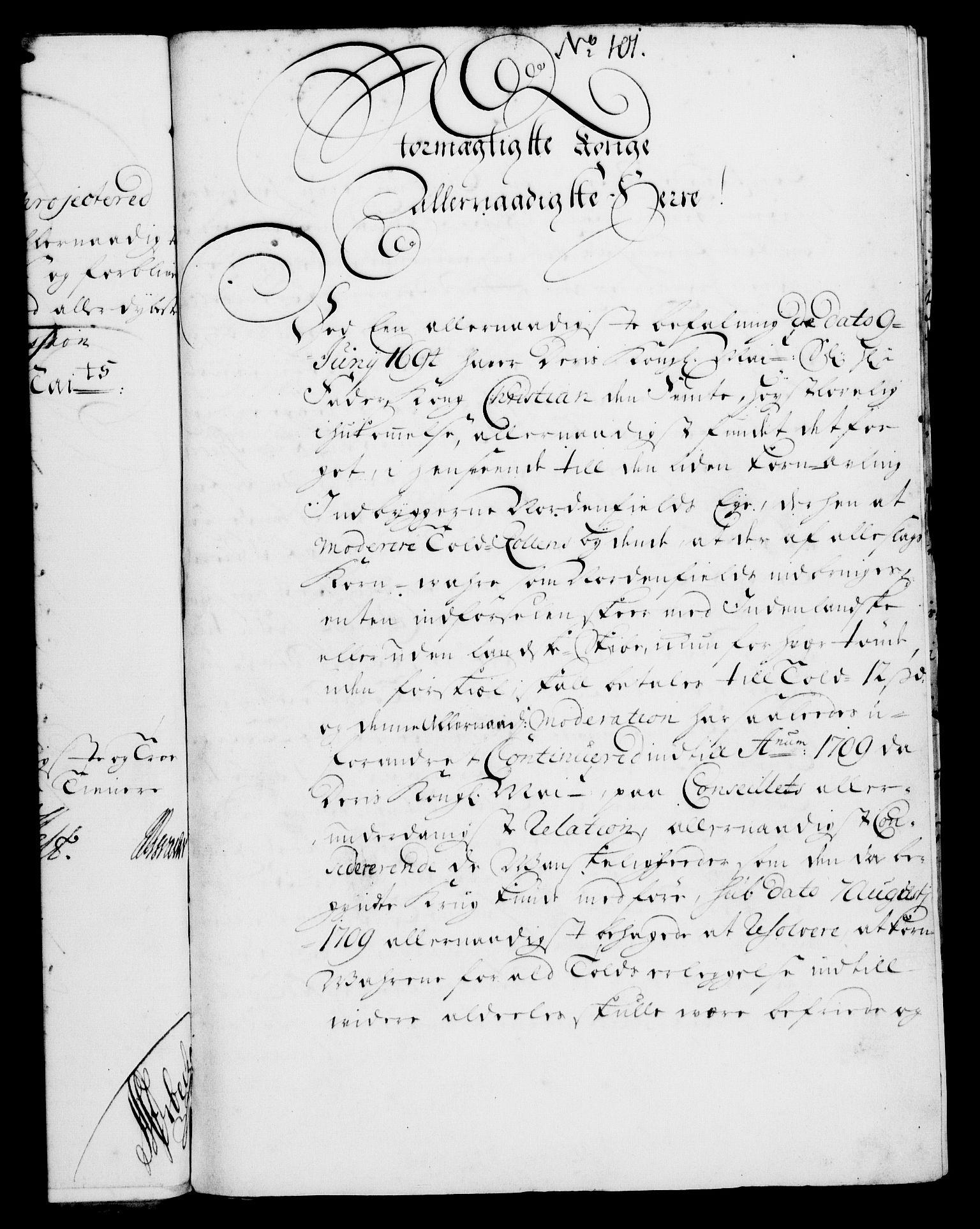 RA, Rentekammeret, Kammerkanselliet, G/Gf/Gfa/L0004: Norsk relasjons- og resolusjonsprotokoll (merket RK 52.4), 1721, s. 770