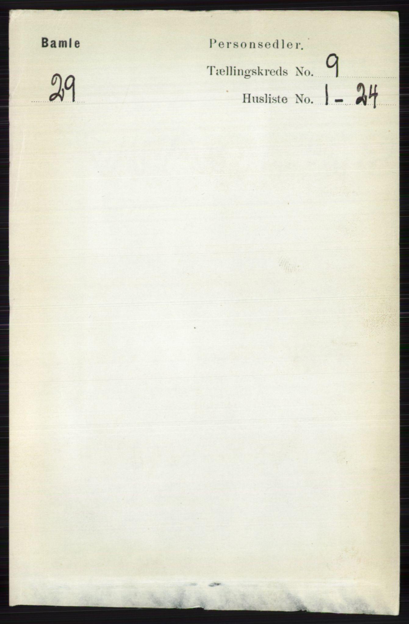 RA, Folketelling 1891 for 0814 Bamble herred, 1891, s. 4184