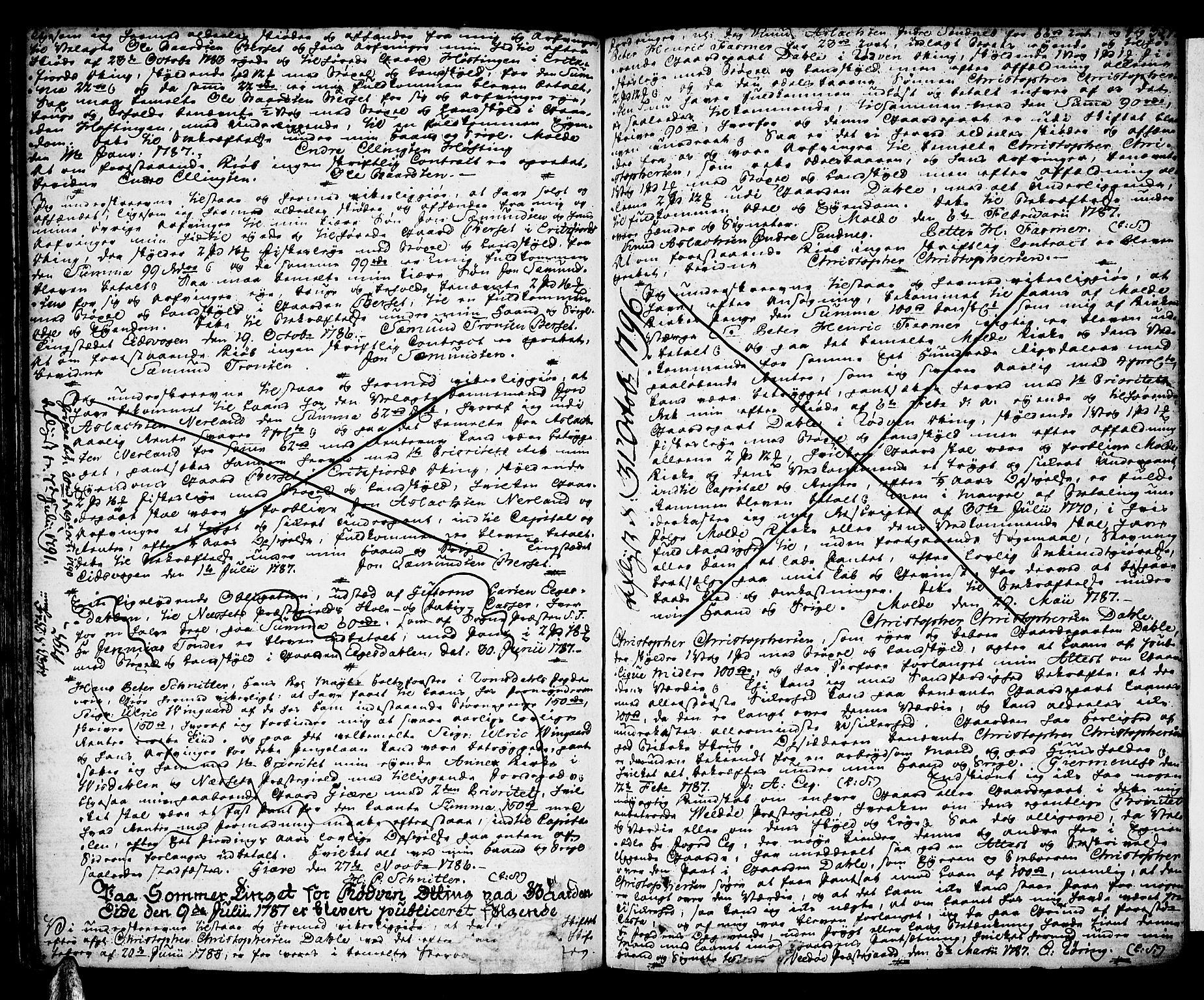 SAT, Romsdal sorenskriveri, 2/2C/L0004: Pantebok nr. 4, 1769-1790, s. 357