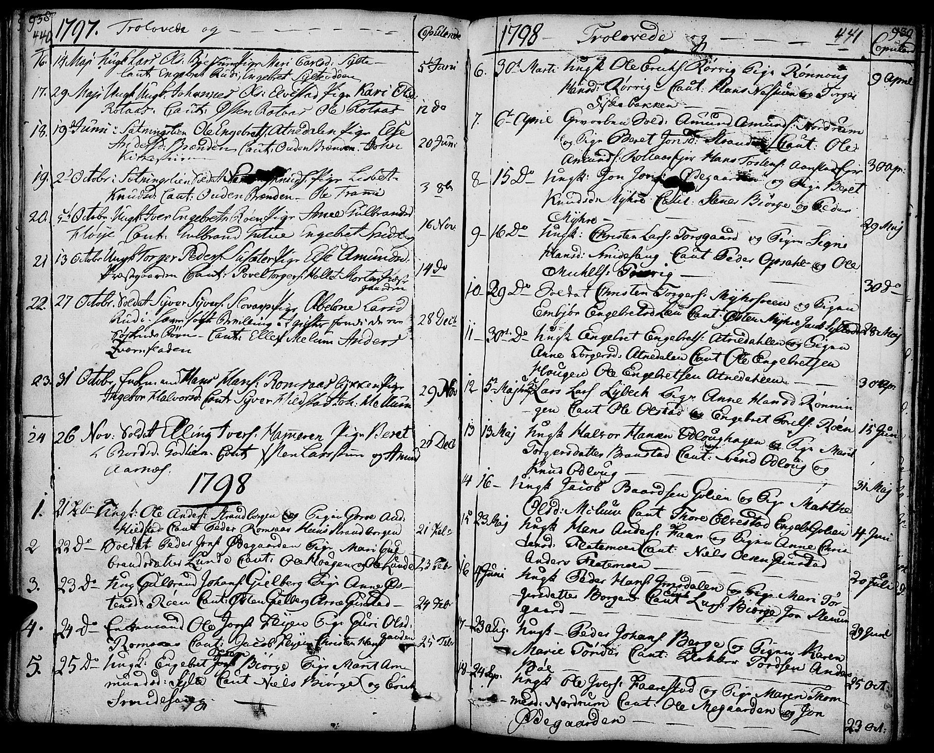 SAH, Ringebu prestekontor, Ministerialbok nr. 3, 1781-1820, s. 440-441