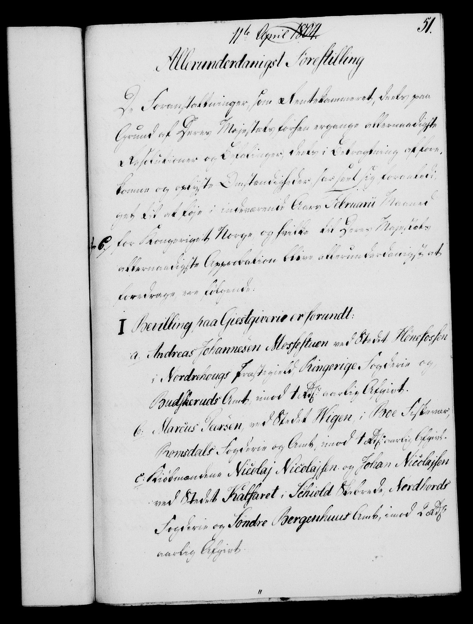 RA, Rentekammeret, Kammerkanselliet, G/Gf/Gfa/L0086: Norsk relasjons- og resolusjonsprotokoll (merket RK 52.86), 1804, s. 316