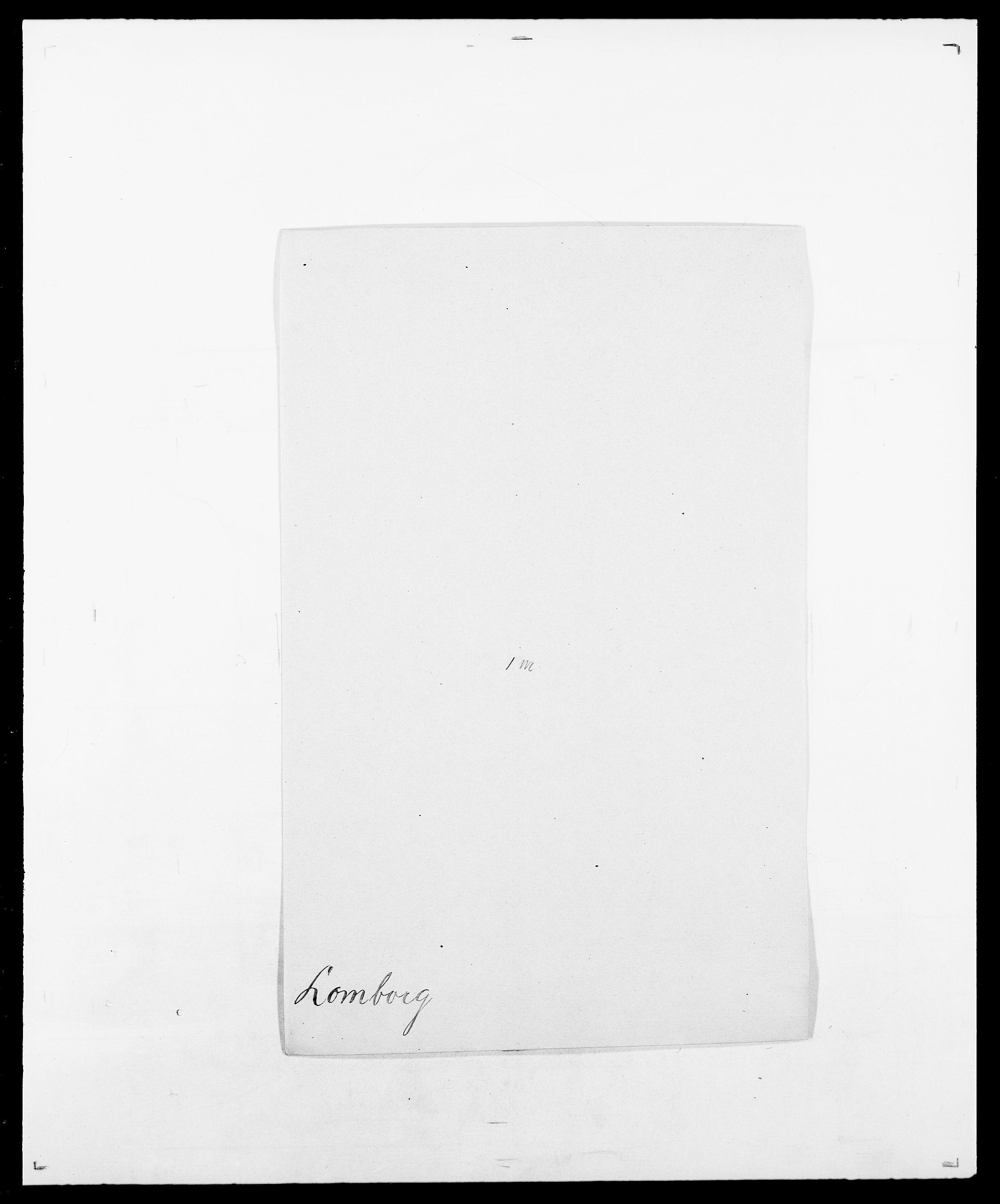 SAO, Delgobe, Charles Antoine - samling, D/Da/L0024: Lobech - Lærum, s. 101