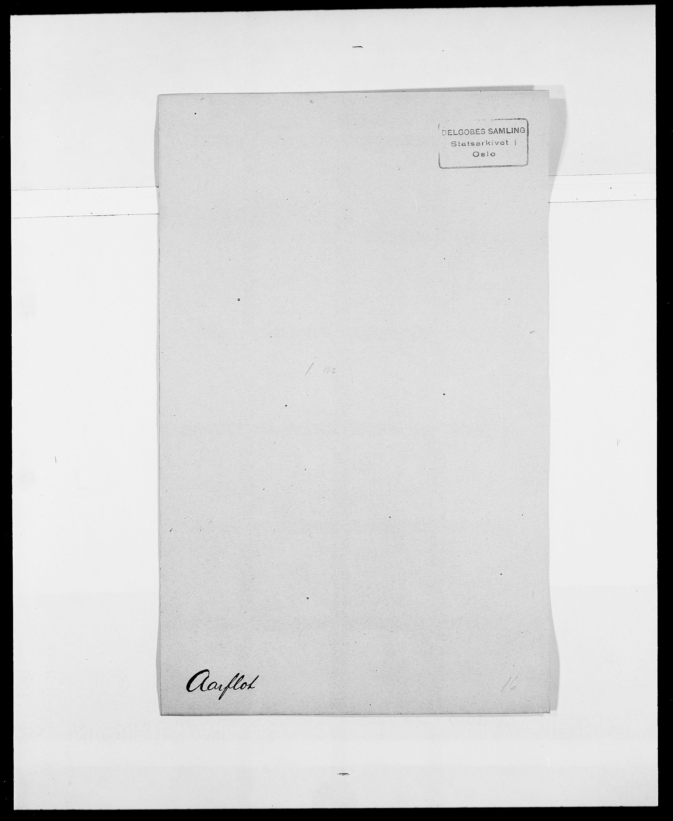 SAO, Delgobe, Charles Antoine - samling, D/Da/L0001: Aabye - Angerman, s. 95