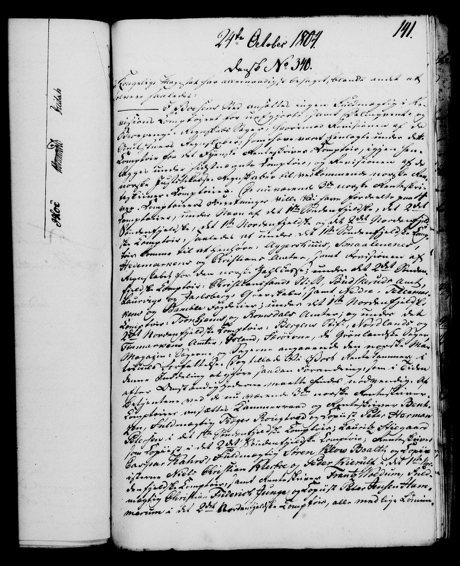 RA, Rentekammeret, Kammerkanselliet, G/Gf/Gfa/L0086: Norsk relasjons- og resolusjonsprotokoll (merket RK 52.86), 1804, s. 824