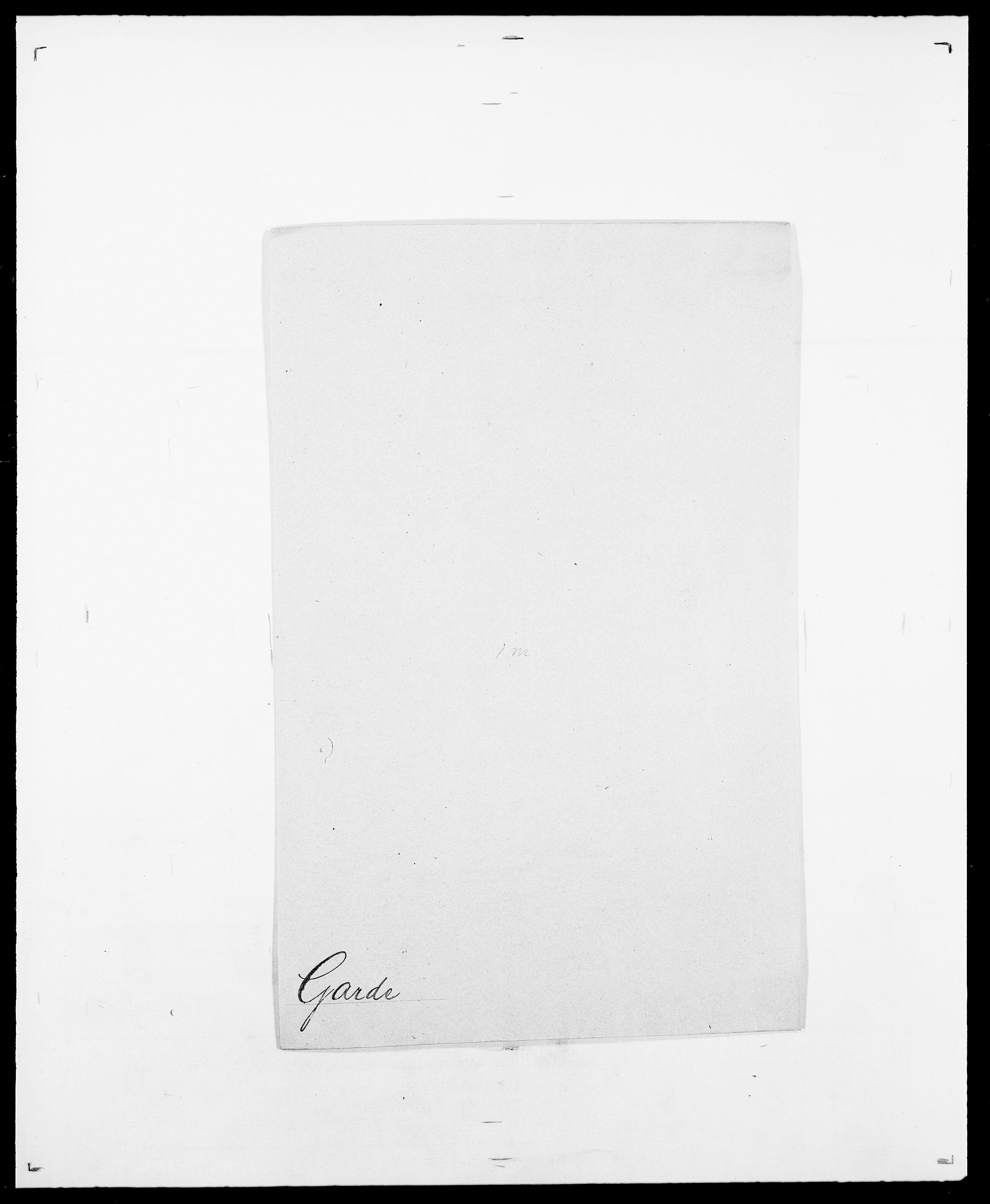 SAO, Delgobe, Charles Antoine - samling, D/Da/L0013: Forbos - Geving, s. 506