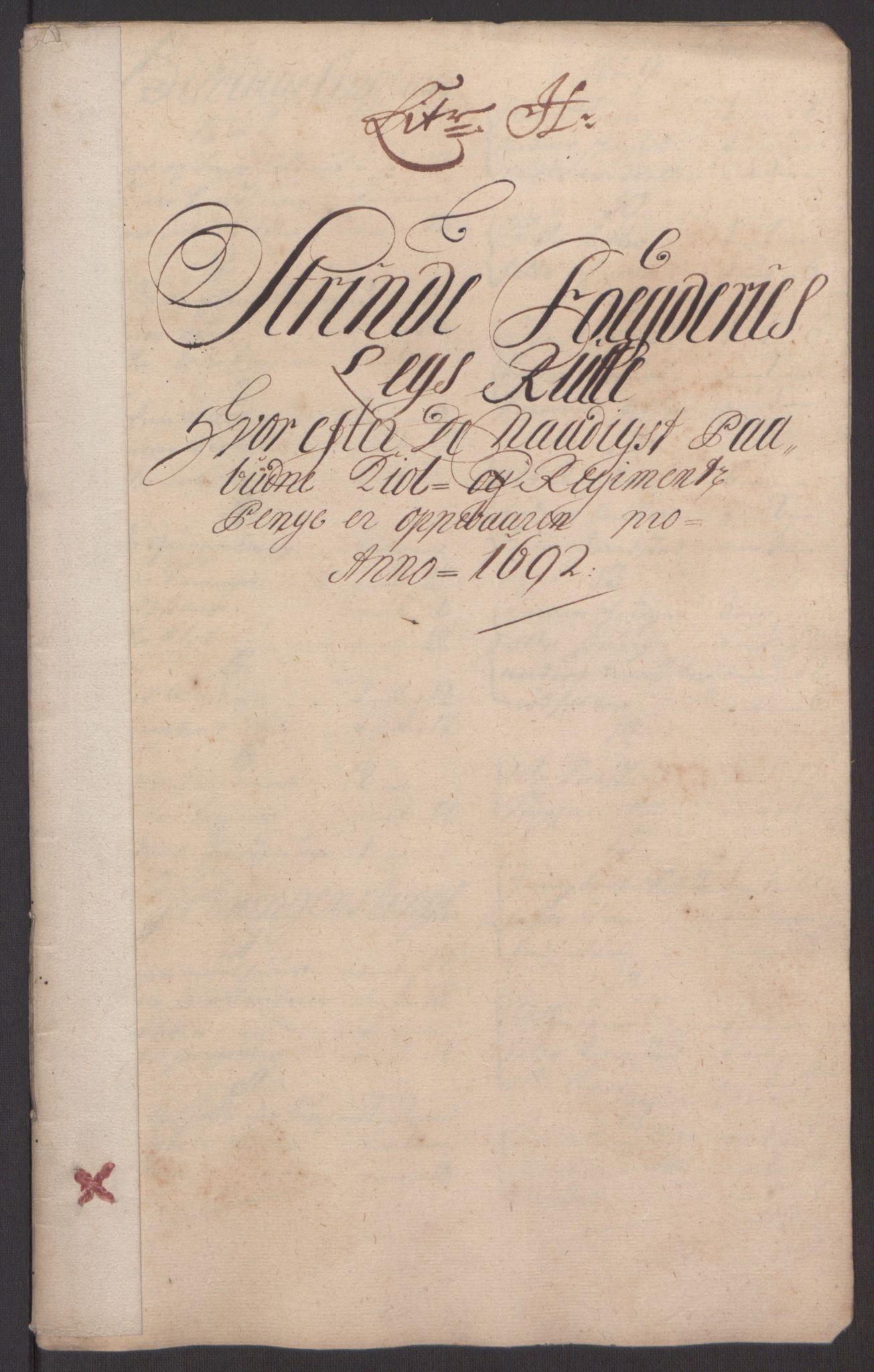 RA, Rentekammeret inntil 1814, Reviderte regnskaper, Fogderegnskap, R61/L4103: Fogderegnskap Strinda og Selbu, 1691-1692, s. 307