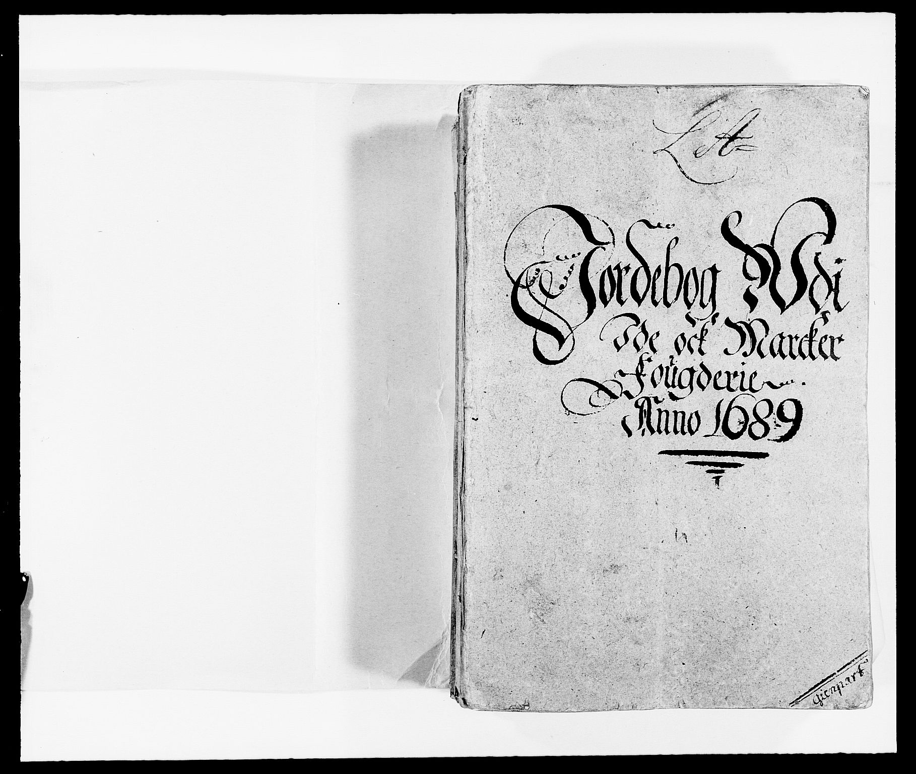 RA, Rentekammeret inntil 1814, Reviderte regnskaper, Fogderegnskap, R01/L0008: Fogderegnskap Idd og Marker, 1689, s. 18