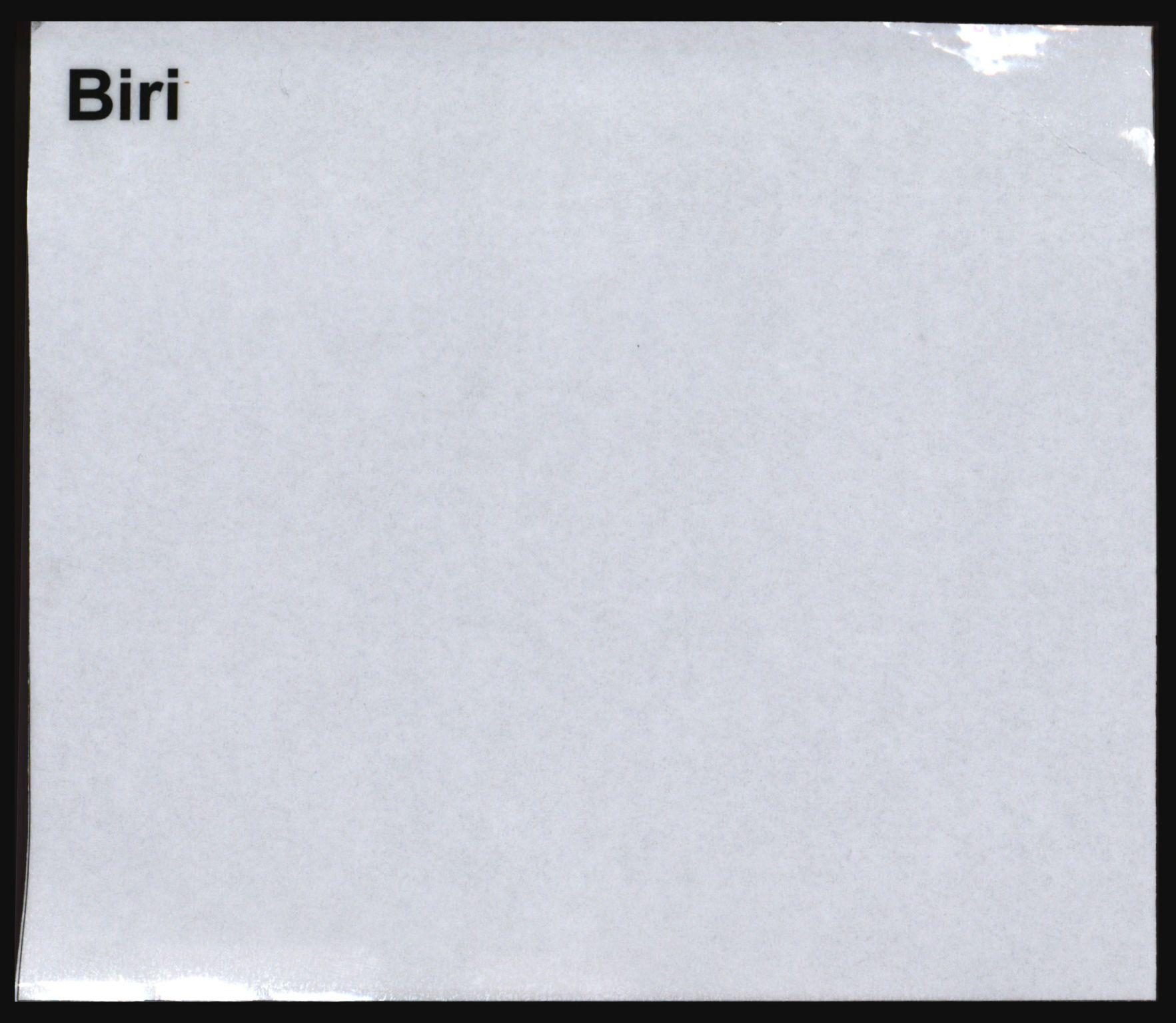 SAH, Norges Brannkasse, Biri, s. 1
