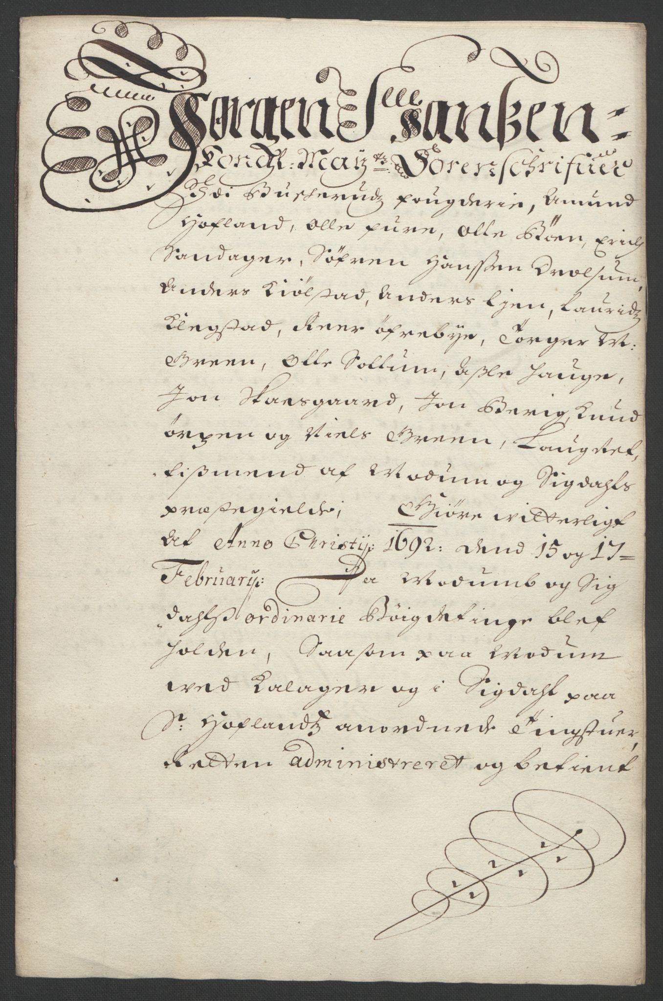 RA, Rentekammeret inntil 1814, Reviderte regnskaper, Fogderegnskap, R25/L1681: Fogderegnskap Buskerud, 1691-1692, s. 456