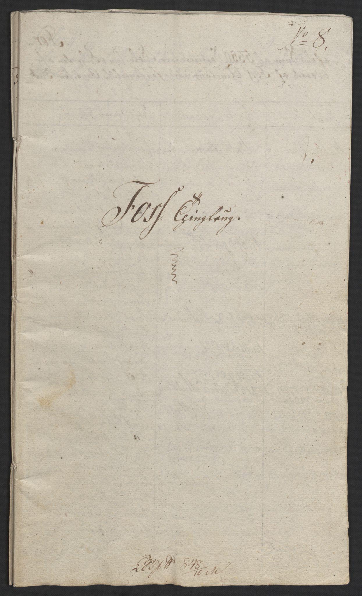 NOBA, Norges Bank/Sølvskatten 1816*, 1816-1822, s. 50