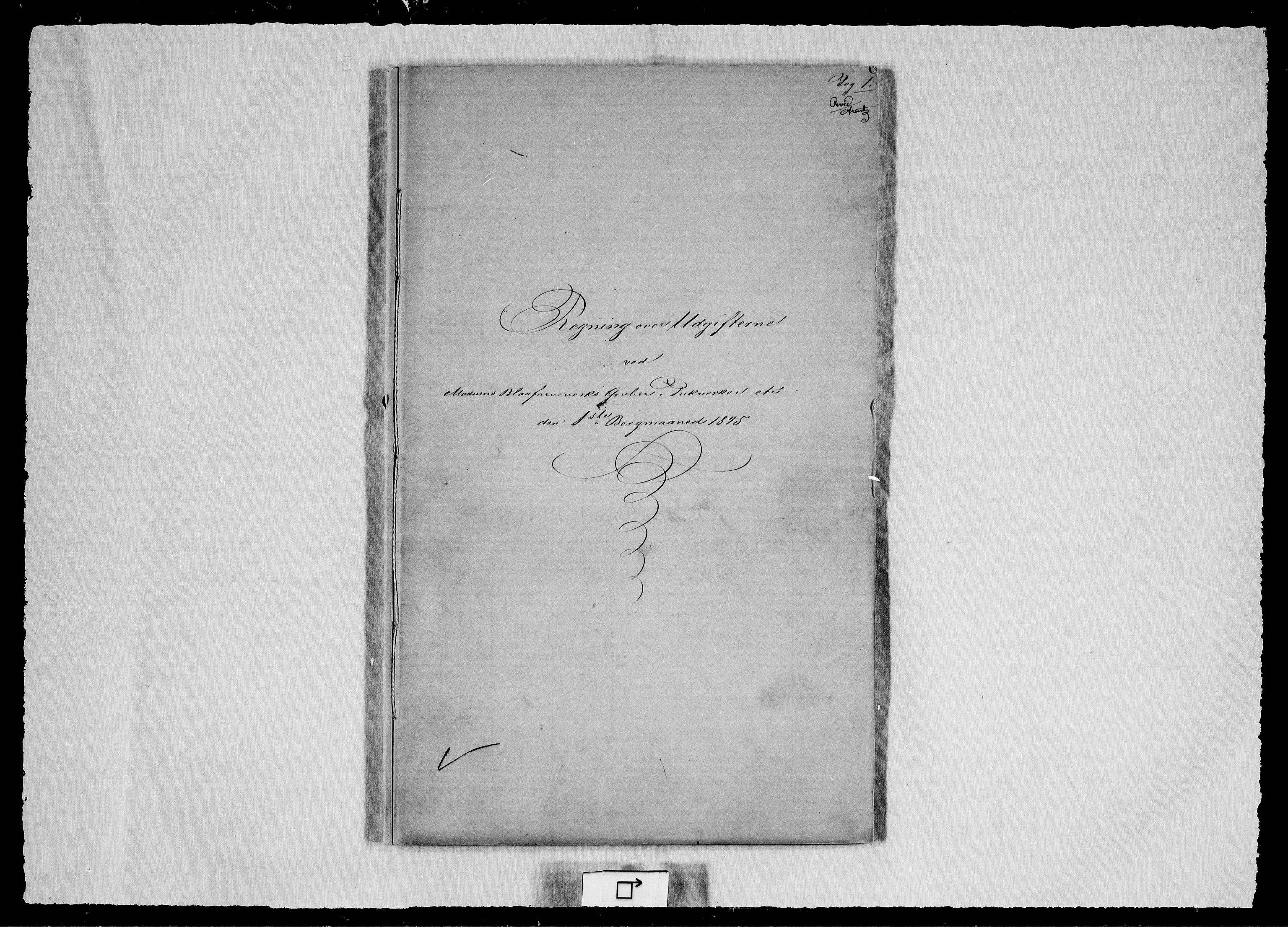 RA, Modums Blaafarveværk, G/Gd/Gdd/L0271, 1845, s. 2