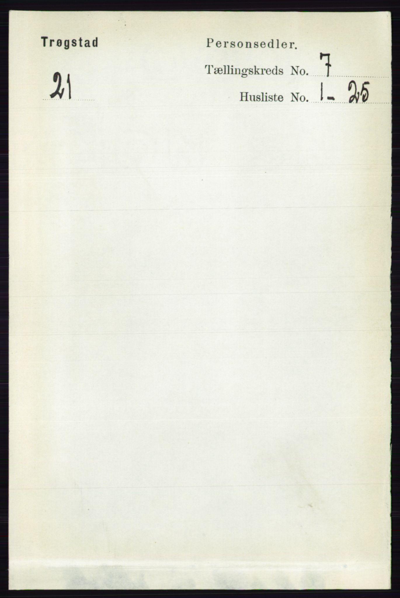 RA, Folketelling 1891 for 0122 Trøgstad herred, 1891, s. 2922