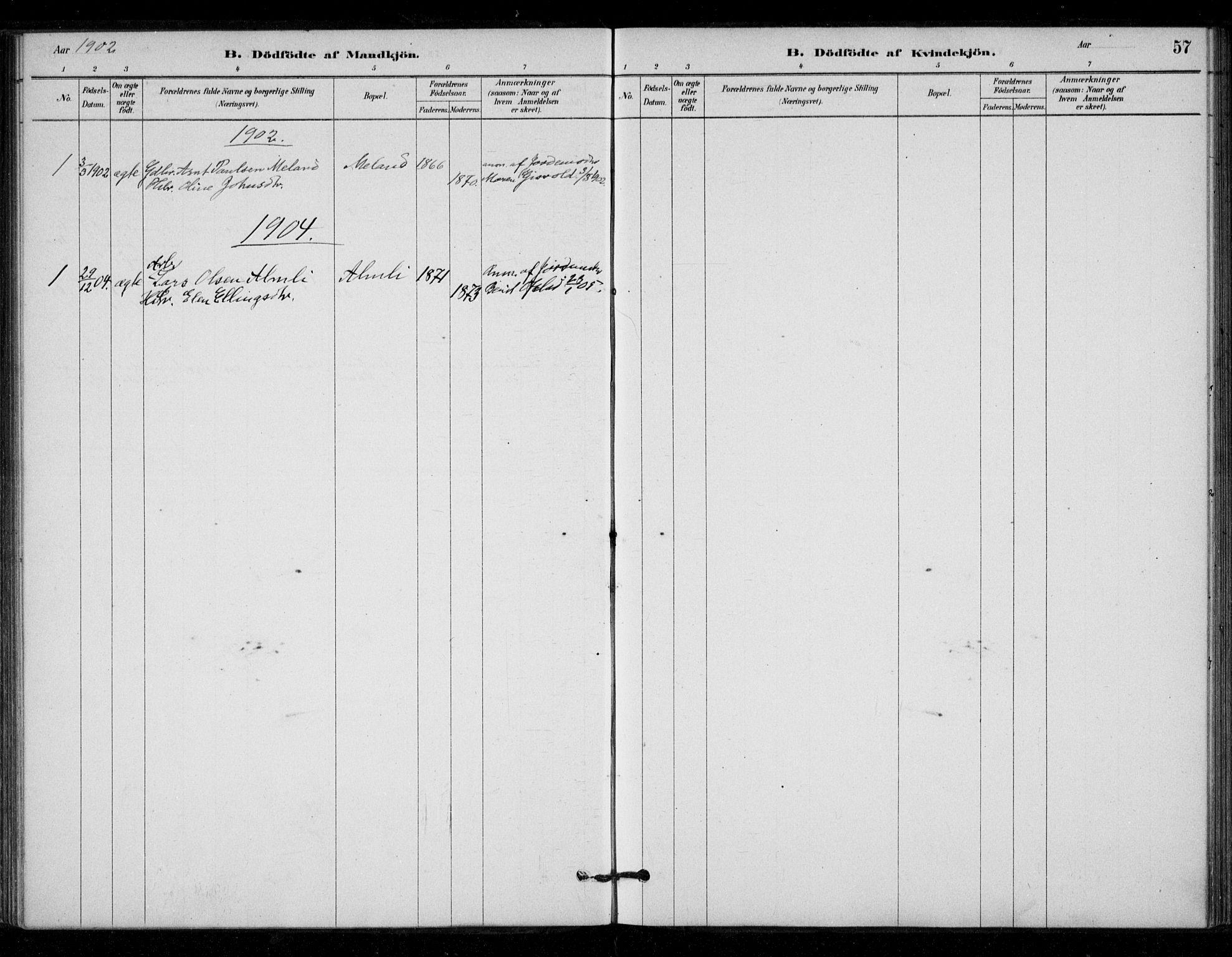 SAT, Ministerialprotokoller, klokkerbøker og fødselsregistre - Sør-Trøndelag, 670/L0836: Ministerialbok nr. 670A01, 1879-1904, s. 57