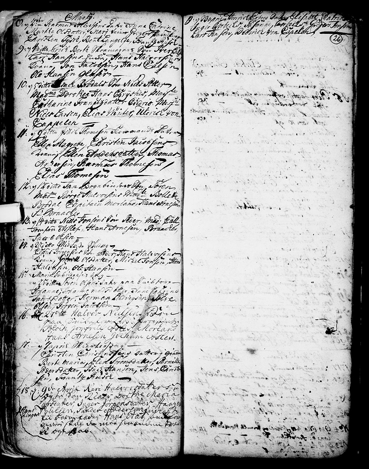 SAKO, Skien kirkebøker, F/Fa/L0002: Ministerialbok nr. 2, 1716-1757, s. 26