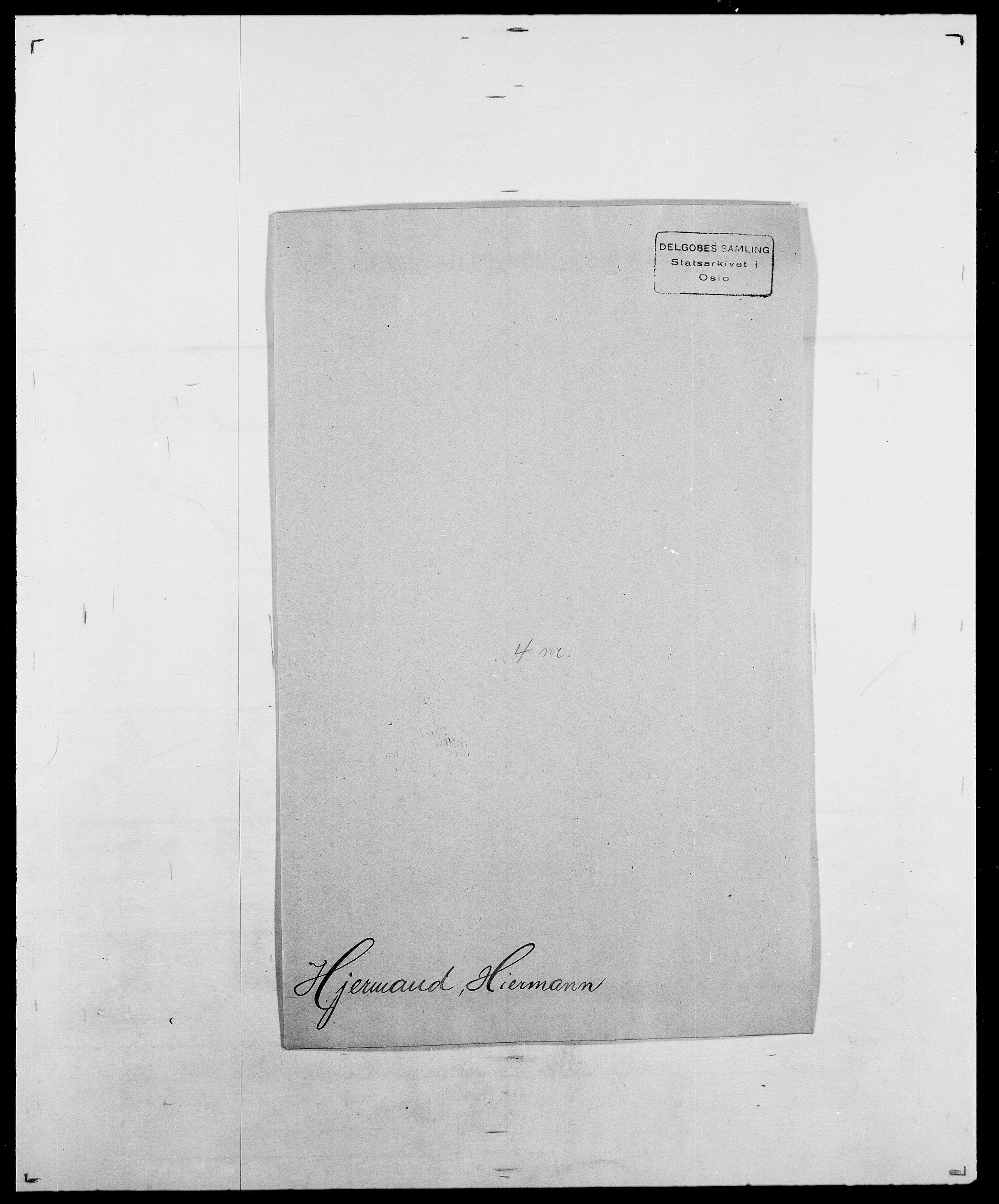 SAO, Delgobe, Charles Antoine - samling, D/Da/L0017: Helander - Hjørne, s. 544