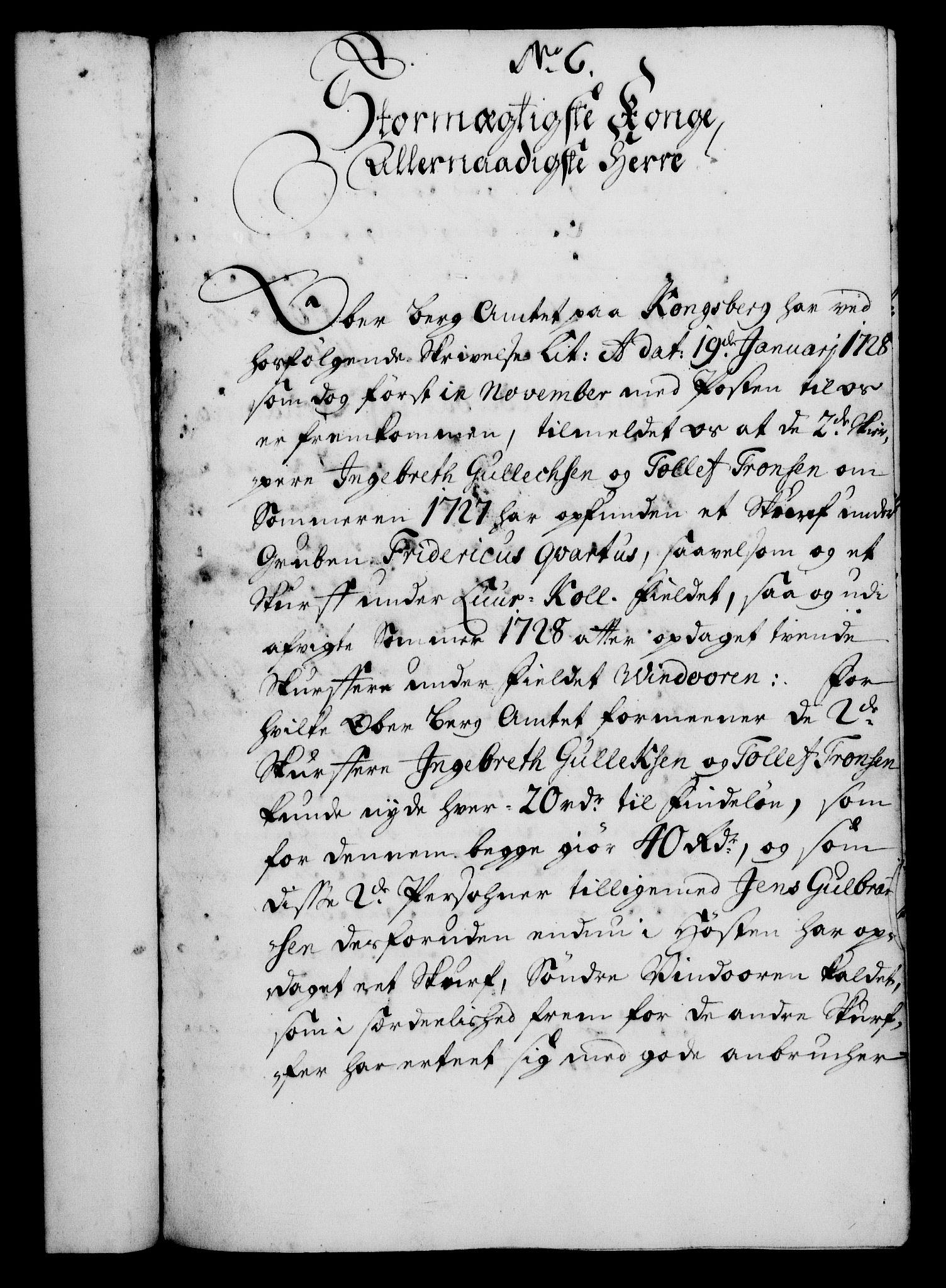 RA, Rentekammeret, Kammerkanselliet, G/Gf/Gfa/L0012: Norsk relasjons- og resolusjonsprotokoll (merket RK 52.12), 1729, s. 66