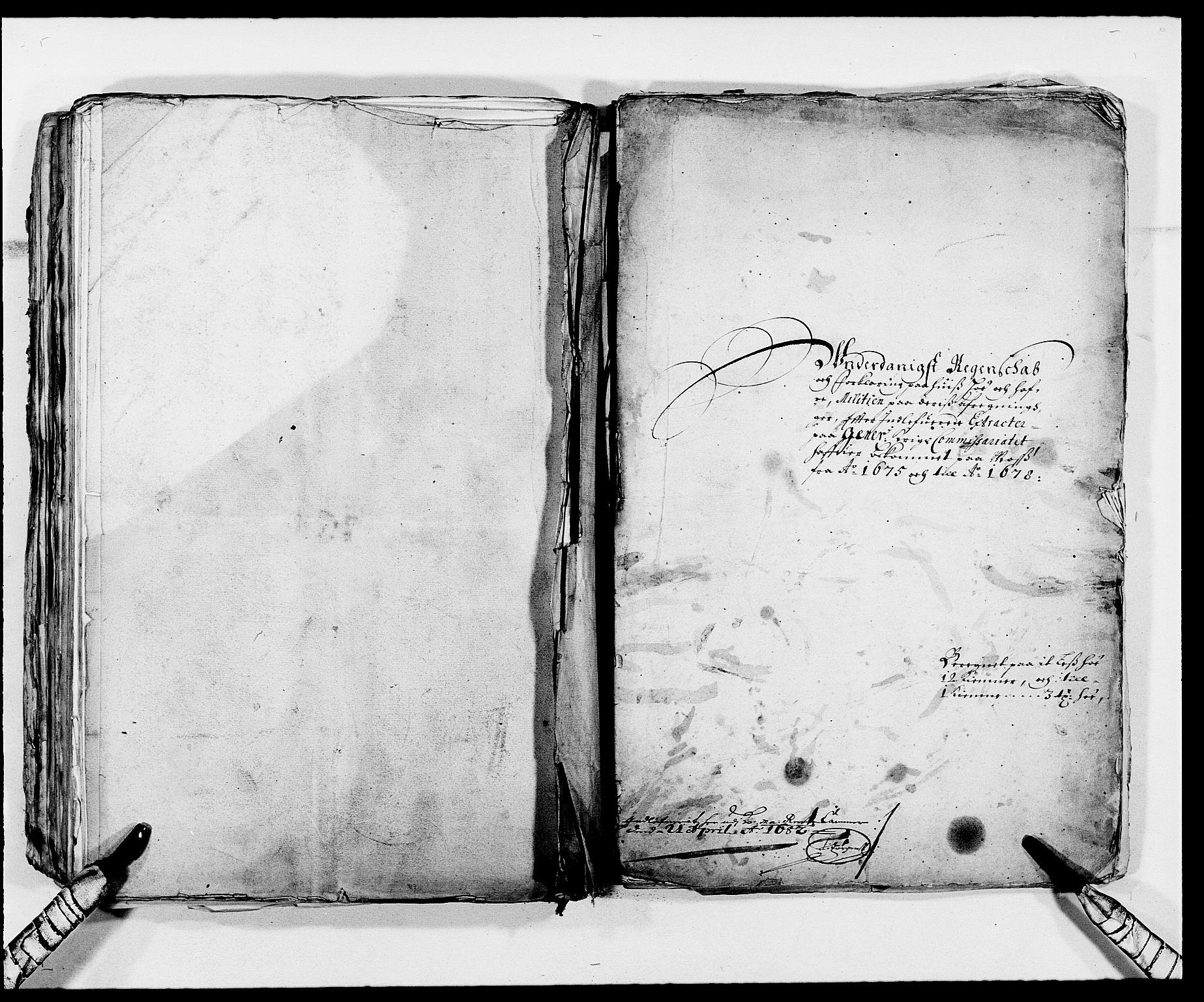 RA, Rentekammeret inntil 1814, Reviderte regnskaper, Fogderegnskap, R02/L0102: Fogderegnskap Moss og Verne kloster, 1675-1681, s. 220