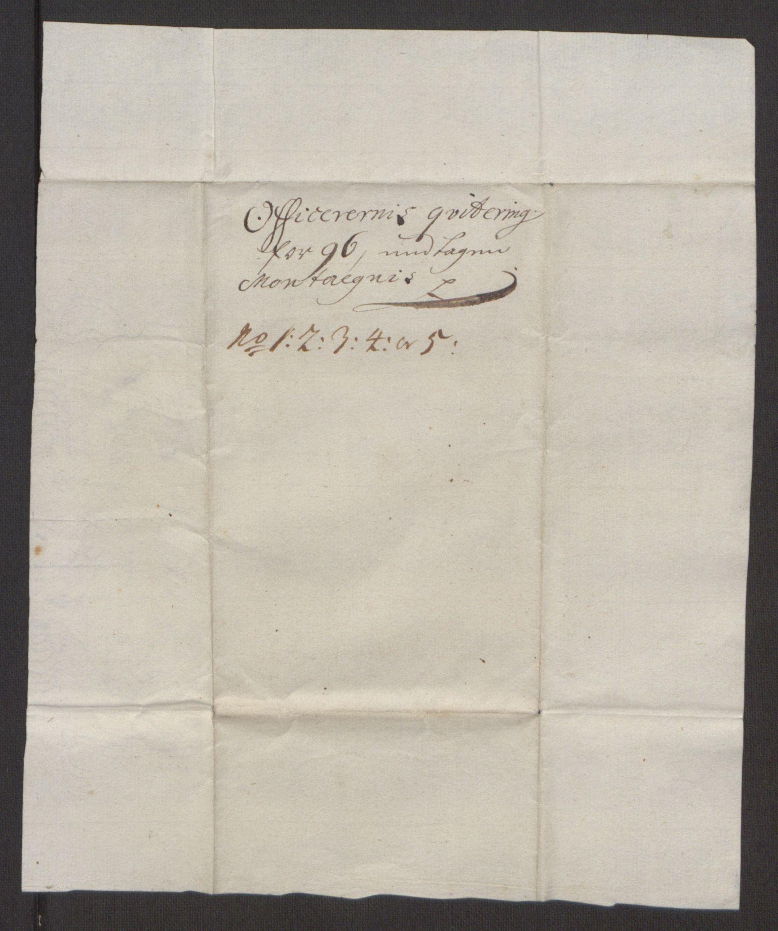 RA, Rentekammeret inntil 1814, Reviderte regnskaper, Fogderegnskap, R48/L2976: Fogderegnskap Sunnhordland og Hardanger, 1695-1696, s. 371