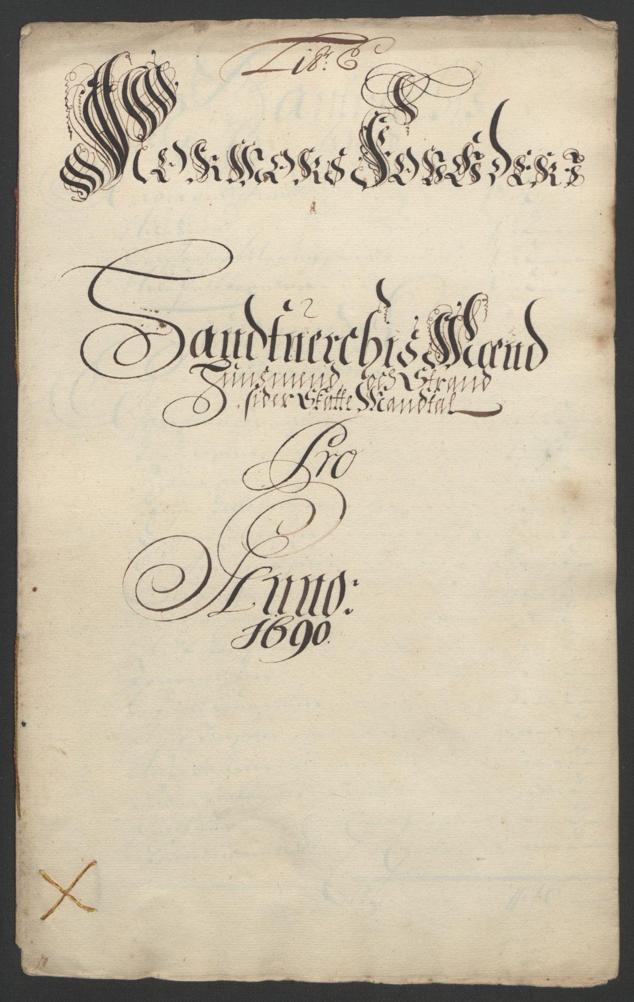 RA, Rentekammeret inntil 1814, Reviderte regnskaper, Fogderegnskap, R56/L3734: Fogderegnskap Nordmøre, 1690-1691, s. 86