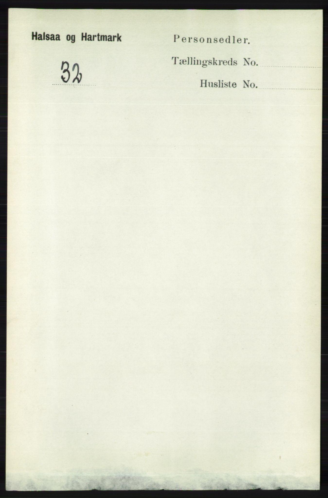 RA, Folketelling 1891 for 1019 Halse og Harkmark herred, 1891, s. 4138