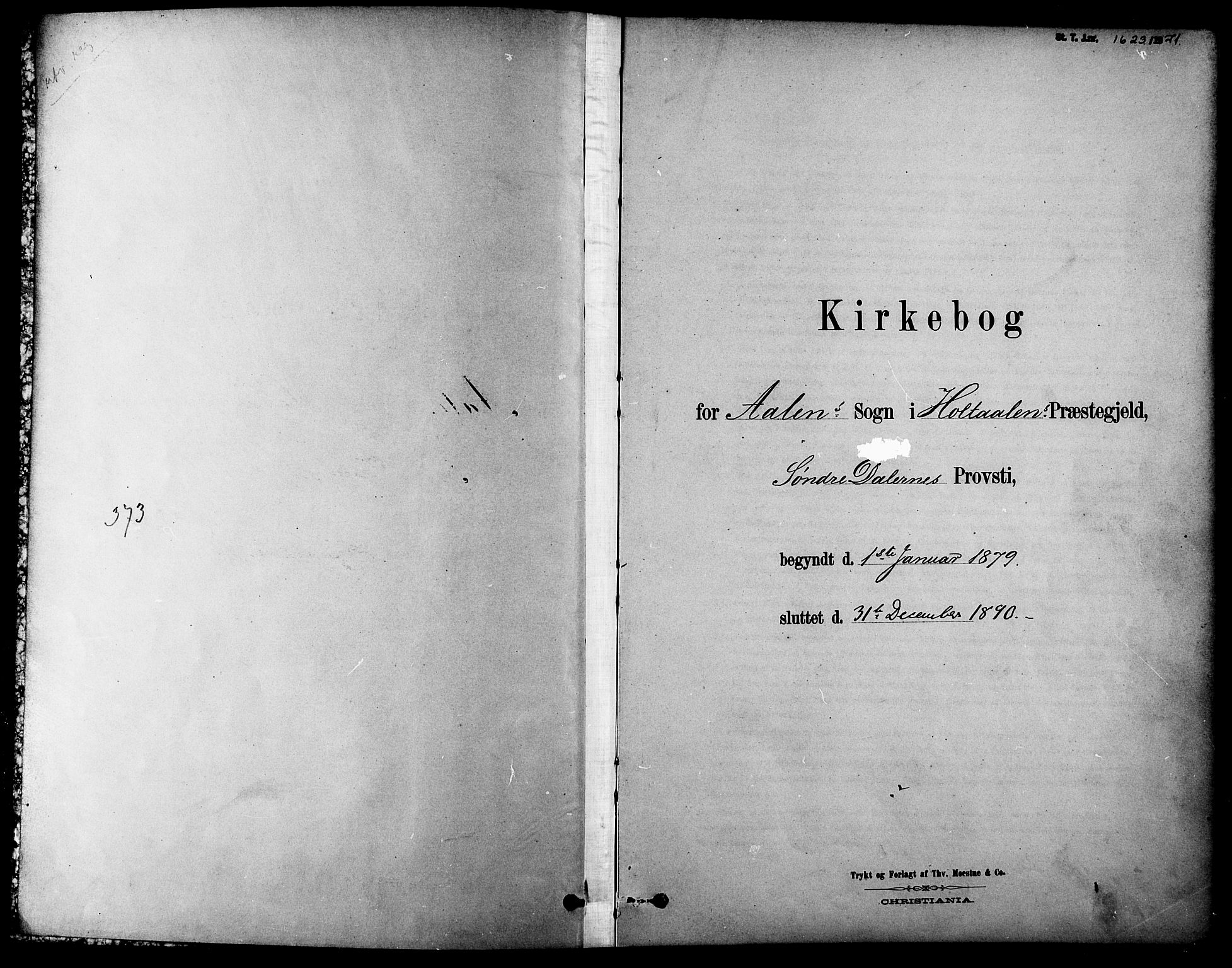 SAT, Ministerialprotokoller, klokkerbøker og fødselsregistre - Sør-Trøndelag, 686/L0983: Ministerialbok nr. 686A01, 1879-1890