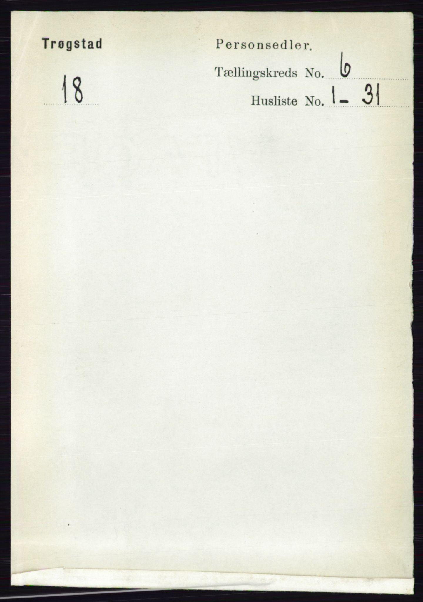 RA, Folketelling 1891 for 0122 Trøgstad herred, 1891, s. 2488