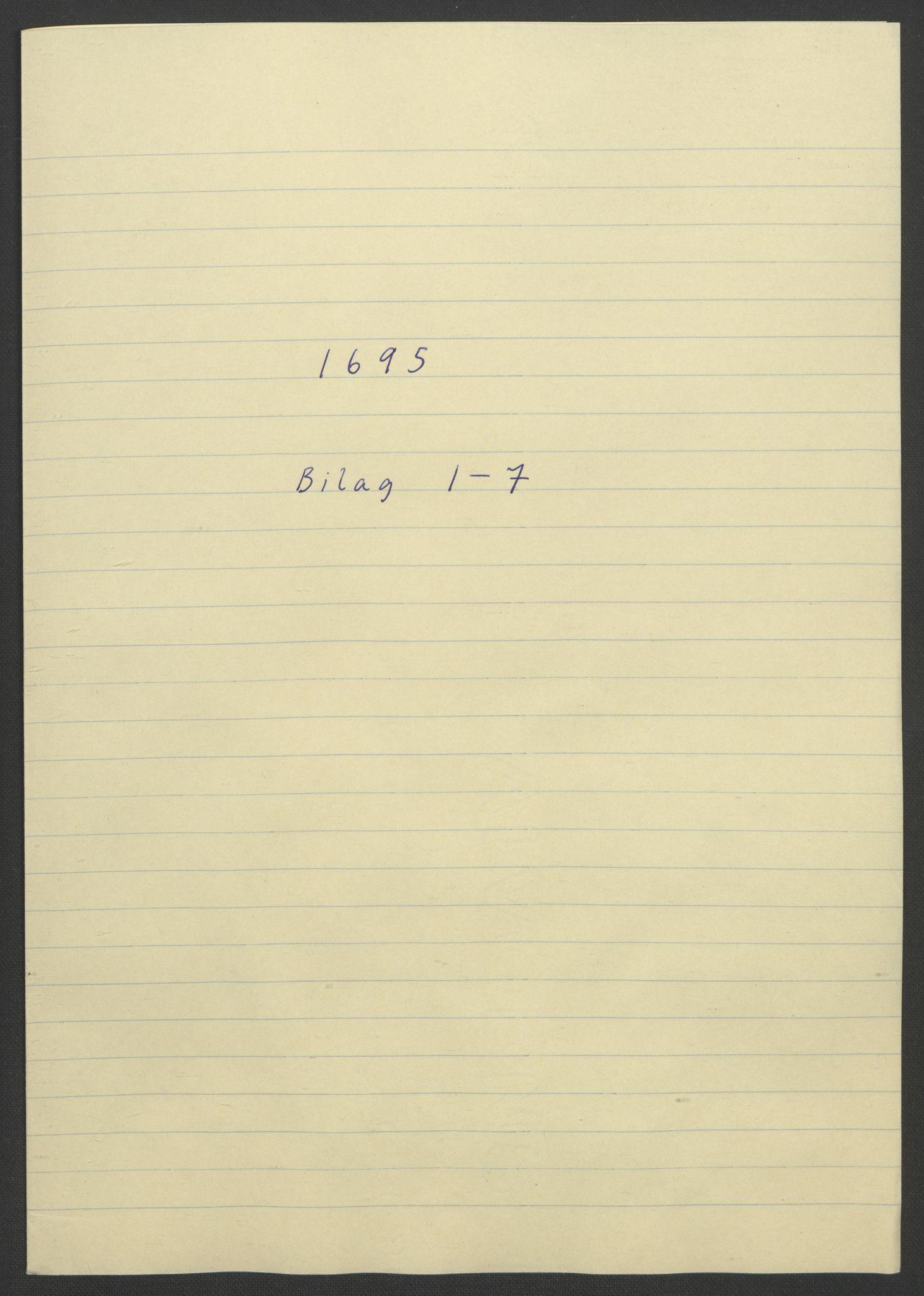 RA, Rentekammeret inntil 1814, Reviderte regnskaper, Fogderegnskap, R57/L3851: Fogderegnskap Fosen, 1695-1696, s. 174