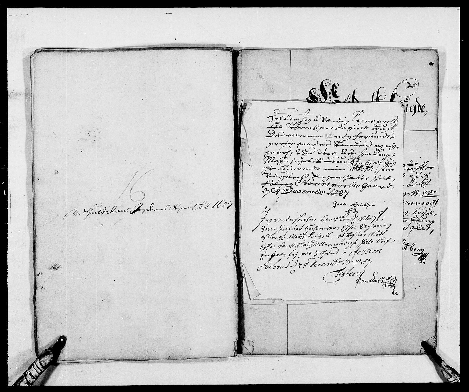 RA, Rentekammeret inntil 1814, Reviderte regnskaper, Fogderegnskap, R59/L3939: Fogderegnskap Gauldal, 1687-1688, s. 84