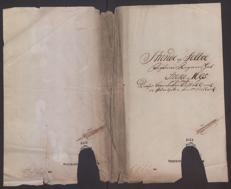 RA, Rentekammeret inntil 1814, Reviderte regnskaper, Fogderegnskap, R61/L4105: Fogderegnskap Strinda og Selbu, 1695, s. 106